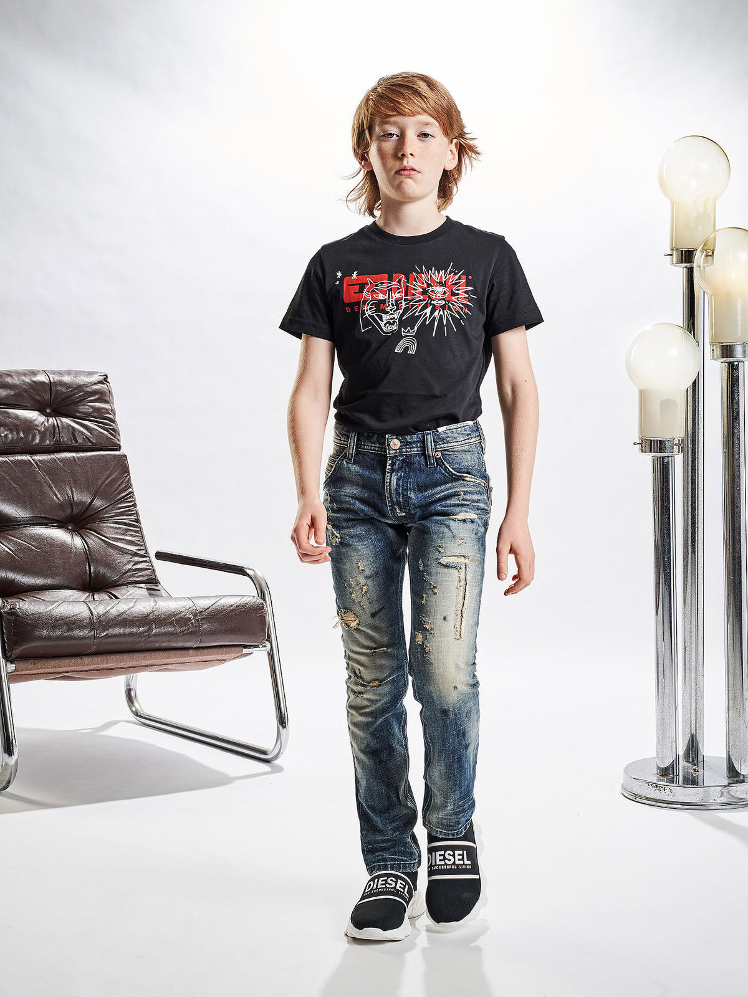 Krooley-JN Pantaloni - Diesel Kid