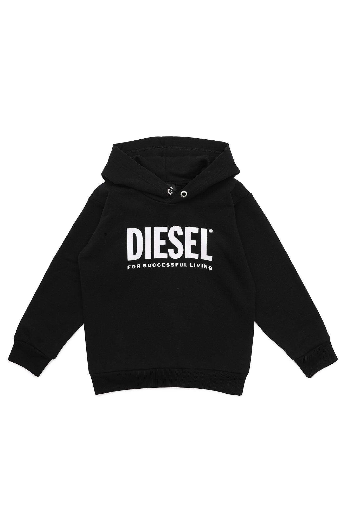 Sdivision-Logo Over Sweatshirt - Diesel Kid