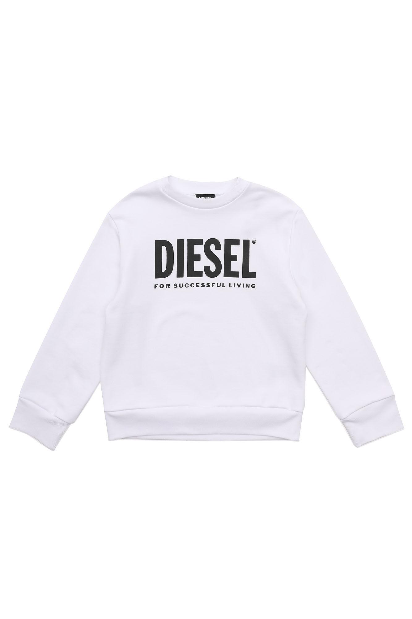 Screwdivision-Logo Over Sweatshirt - Diesel Kid