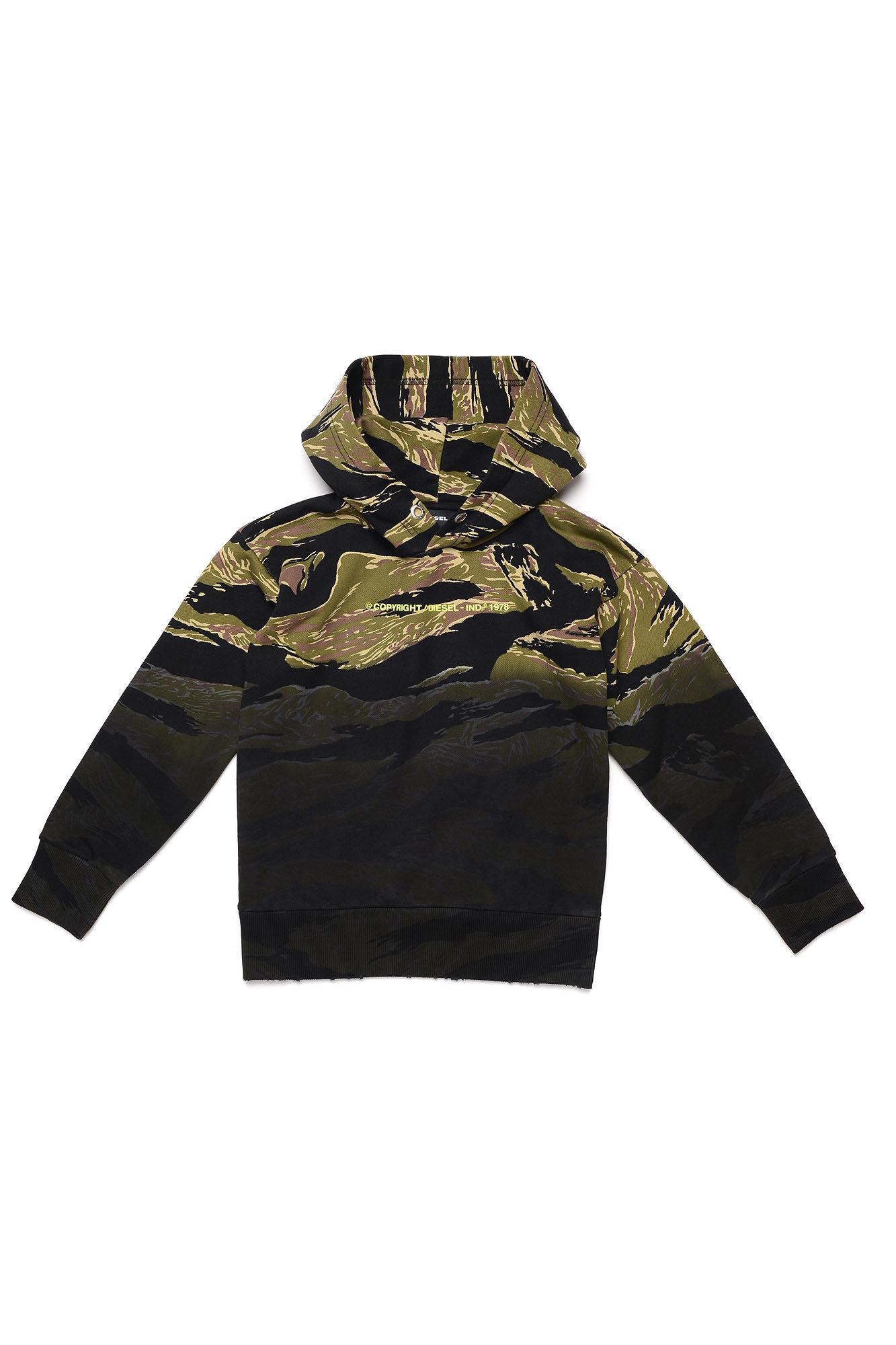 Salbytigercam Over Sweatshirt - Diesel Kid