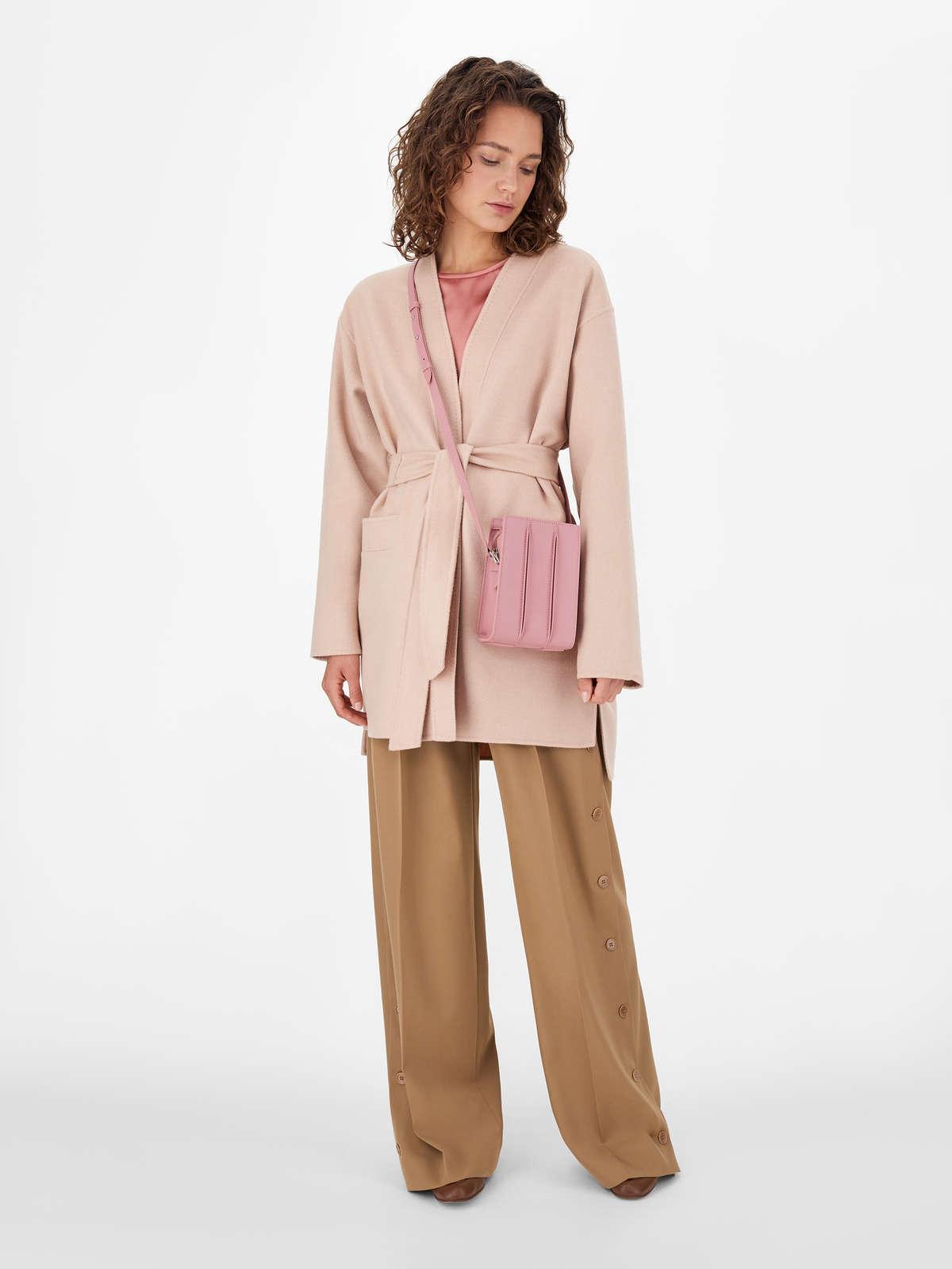 Pure albino camel coat, double hand-stitched - Max Mara