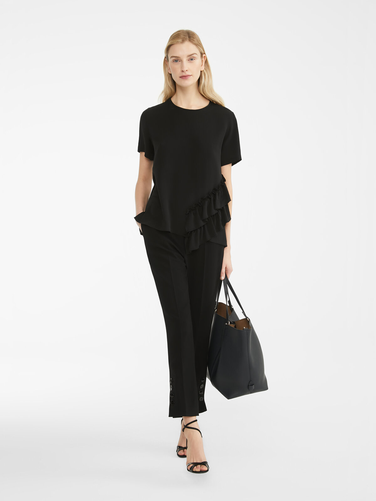 Blouse In Washed Silk - Max Mara