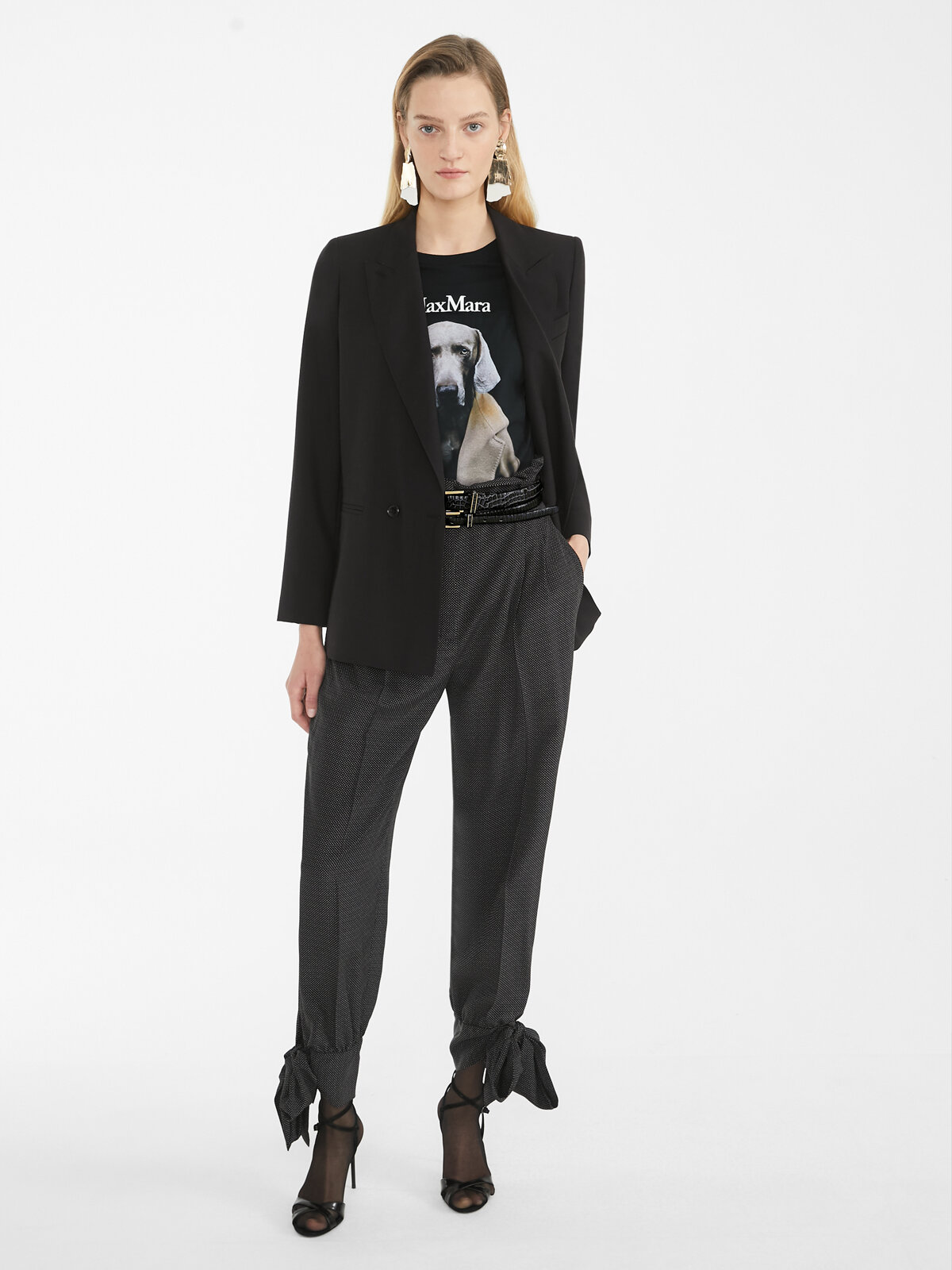Silk Crêpe De Chine Trousers - Max Mara