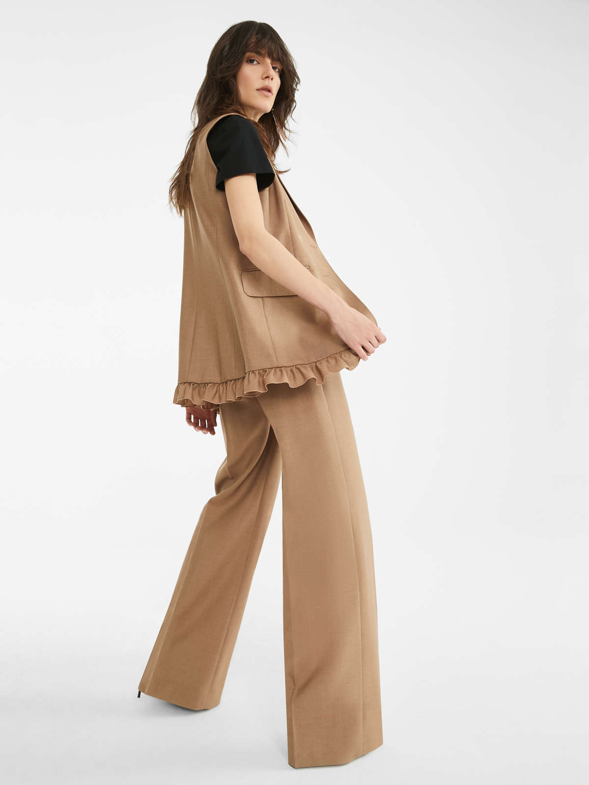 Mohair And Silk Trousers - Max Mara