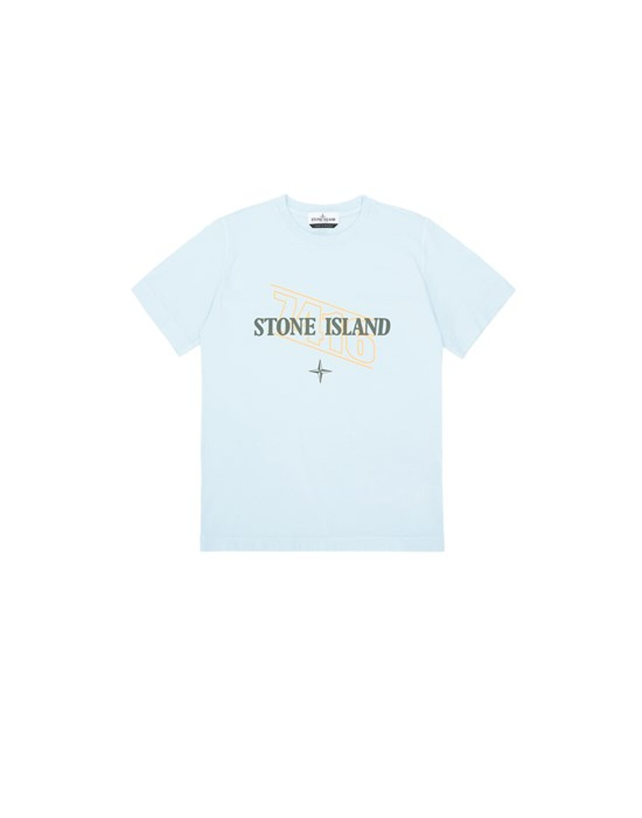 21054 Stampa ?Sign Lettering Three? - Stone Island Junior