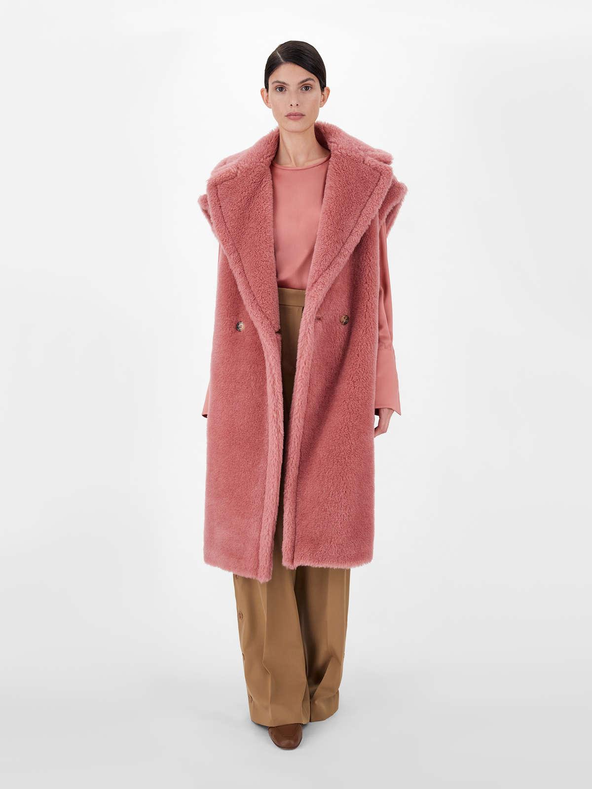 Teddy vest in alpaca and wool - Max Mara