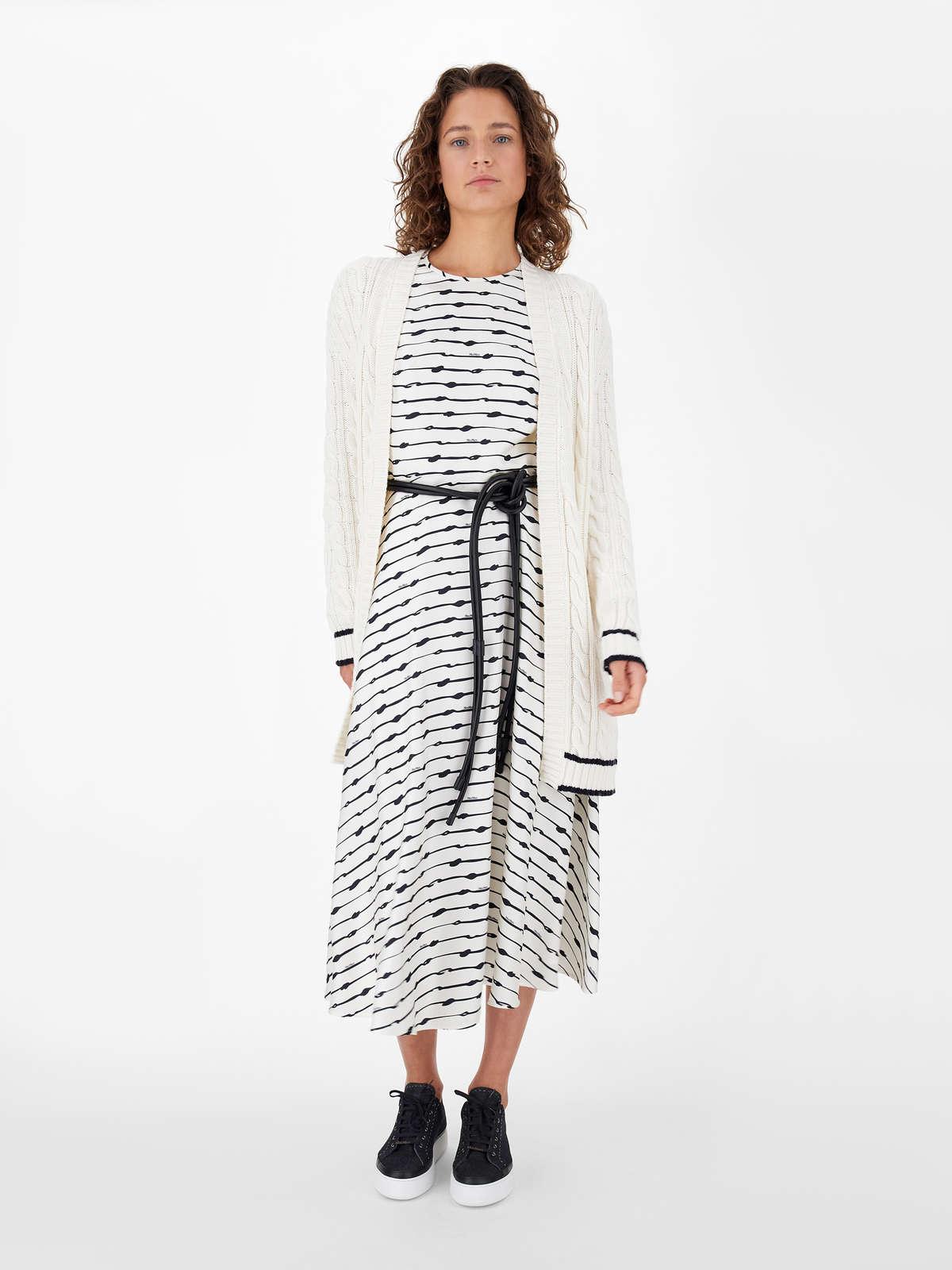 Cotton, cashmere and silk yarn cardigan - Max Mara