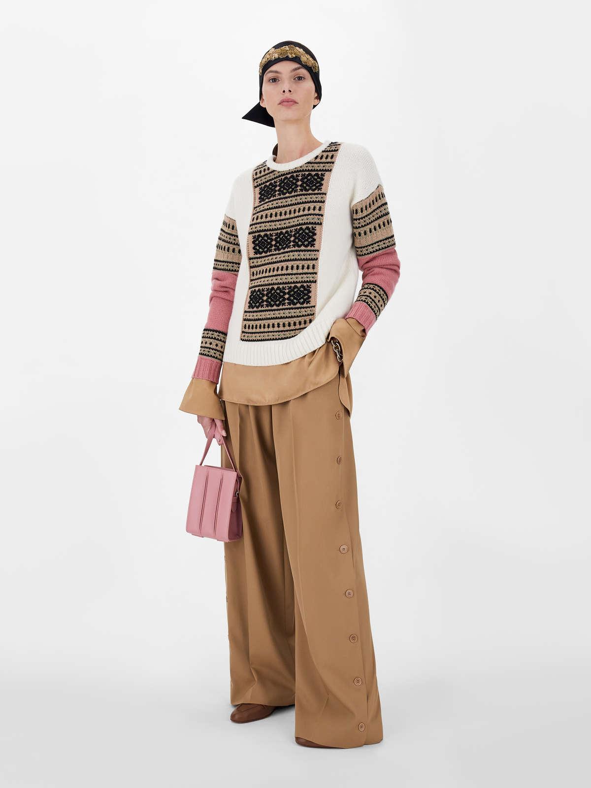 Sweater in wool and cashmere yarn - Max Mara
