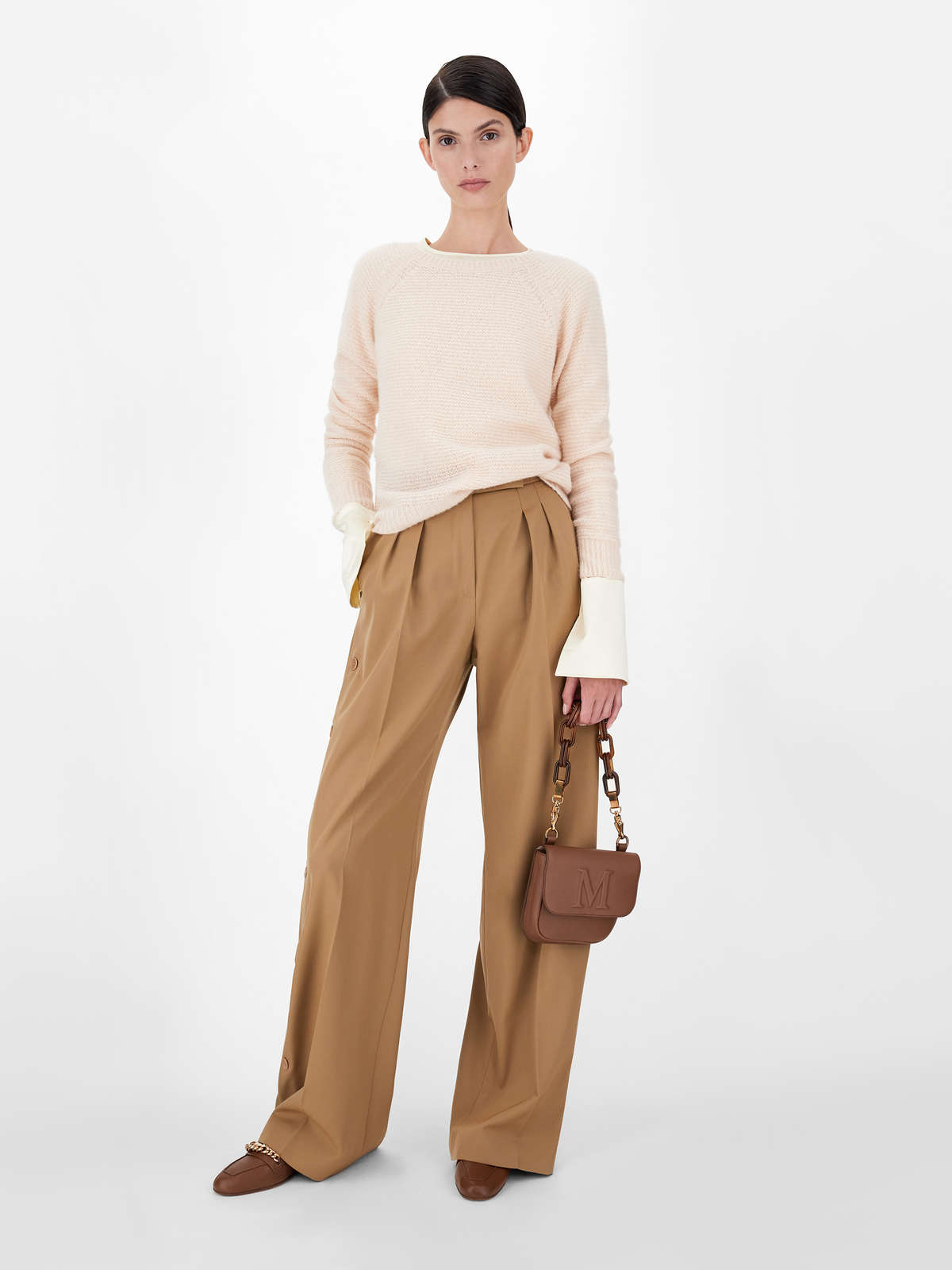 Cashmere and silk yarn sweater - Max Mara