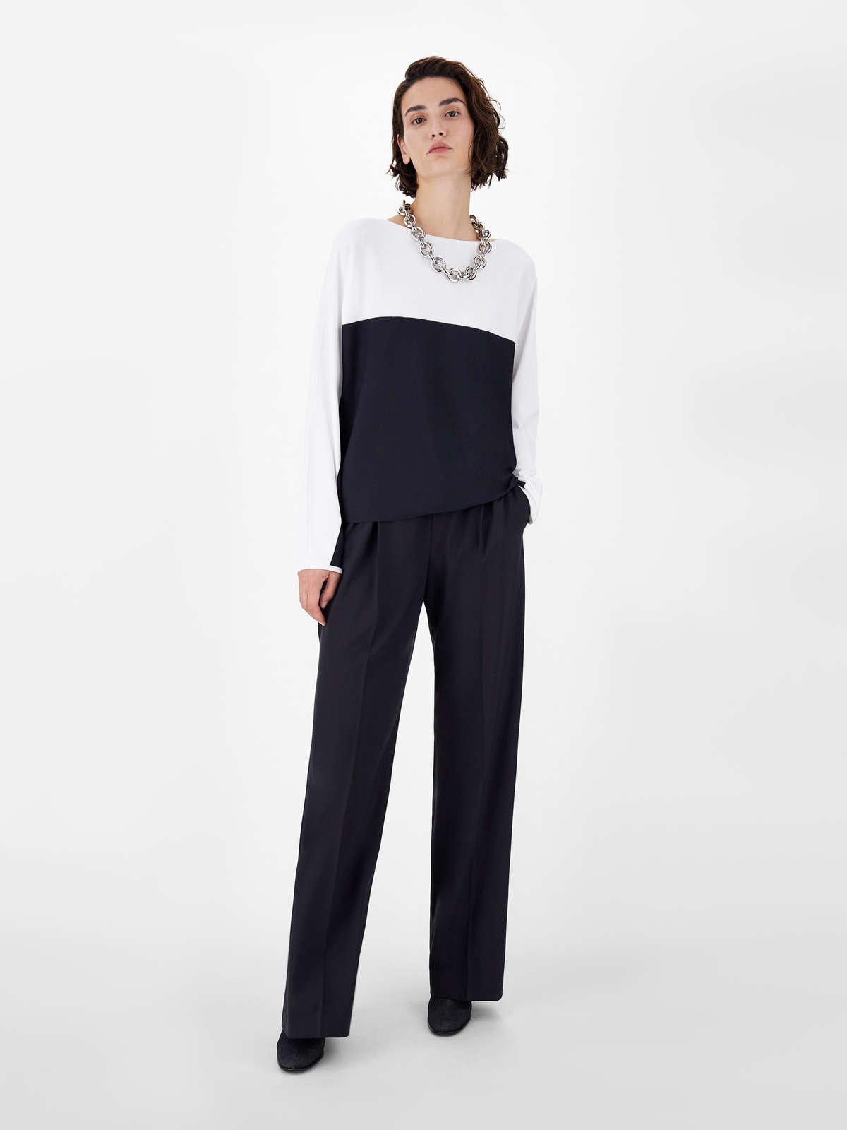 Crepe viscose yarn sweater - Max Mara