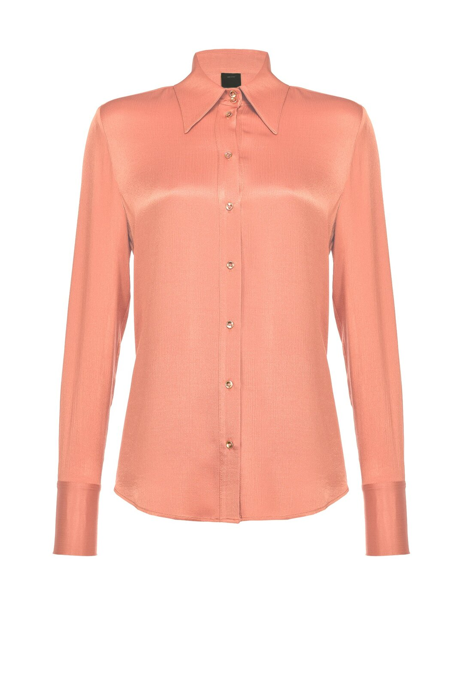 Camicia Fluida In Satin Friossè - Pinko