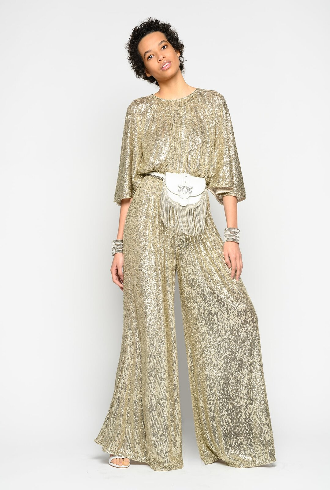 Full Sequins Suit - Pinko