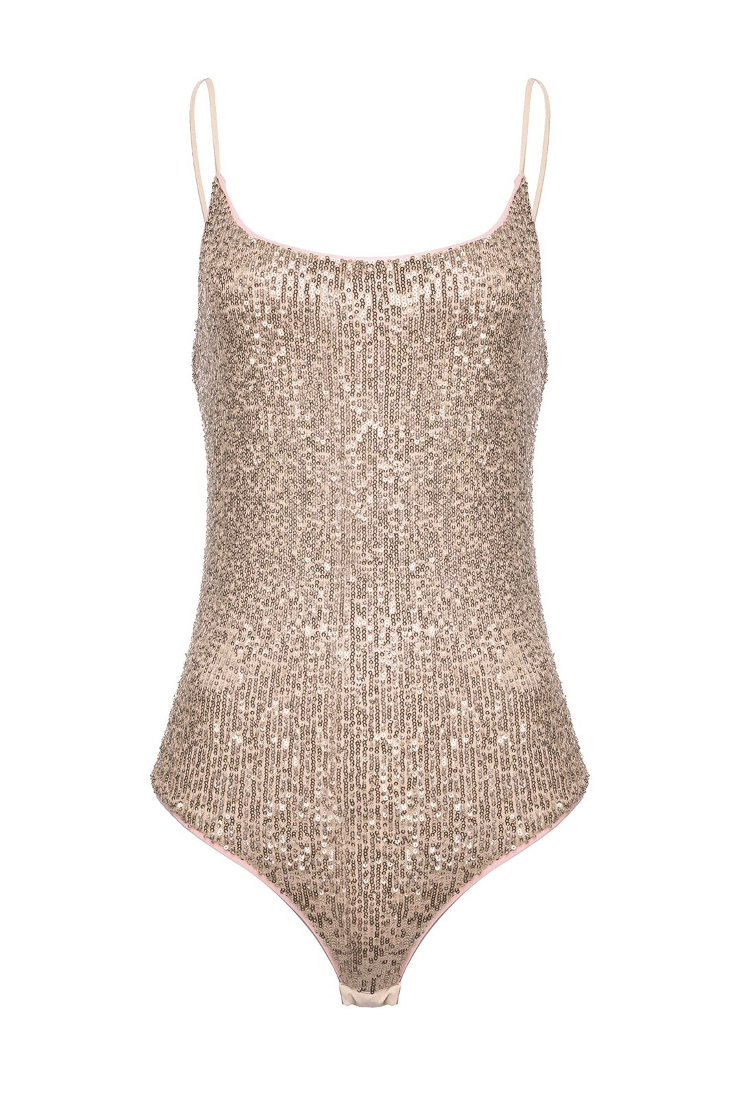 Body In Full Paillettes Sfumate - Pinko
