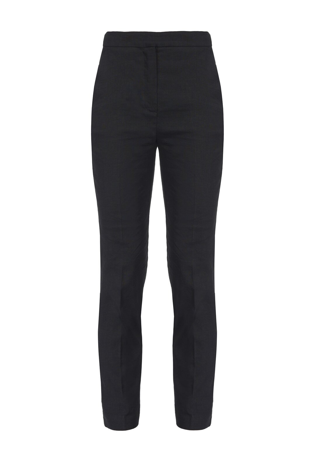 Cigarette-Fit Pants In Technical Milano Point - Pinko
