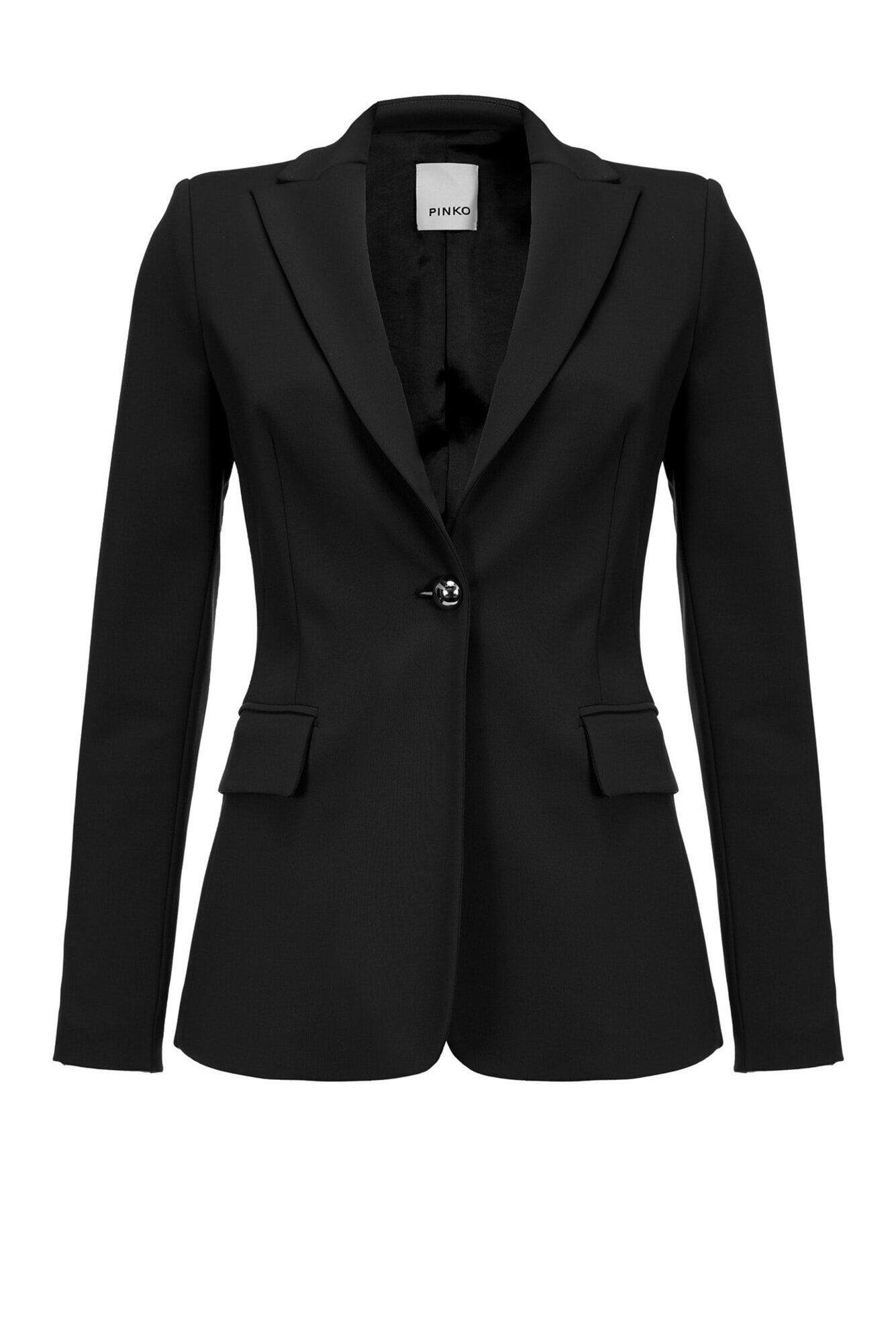 Technical Milano stitch blazer - Pinko