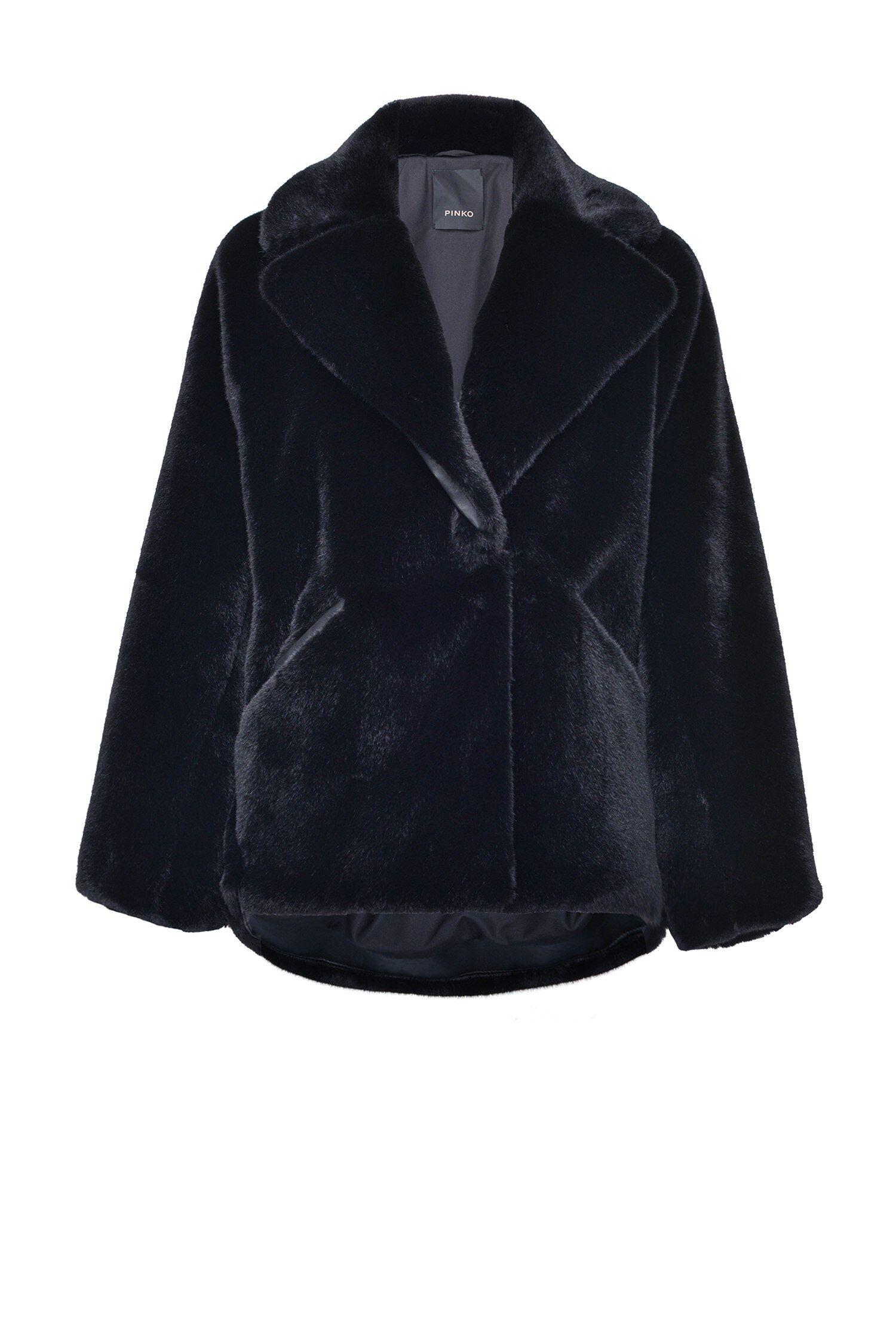 Cappotto Blouson Faux Fur - Pinko