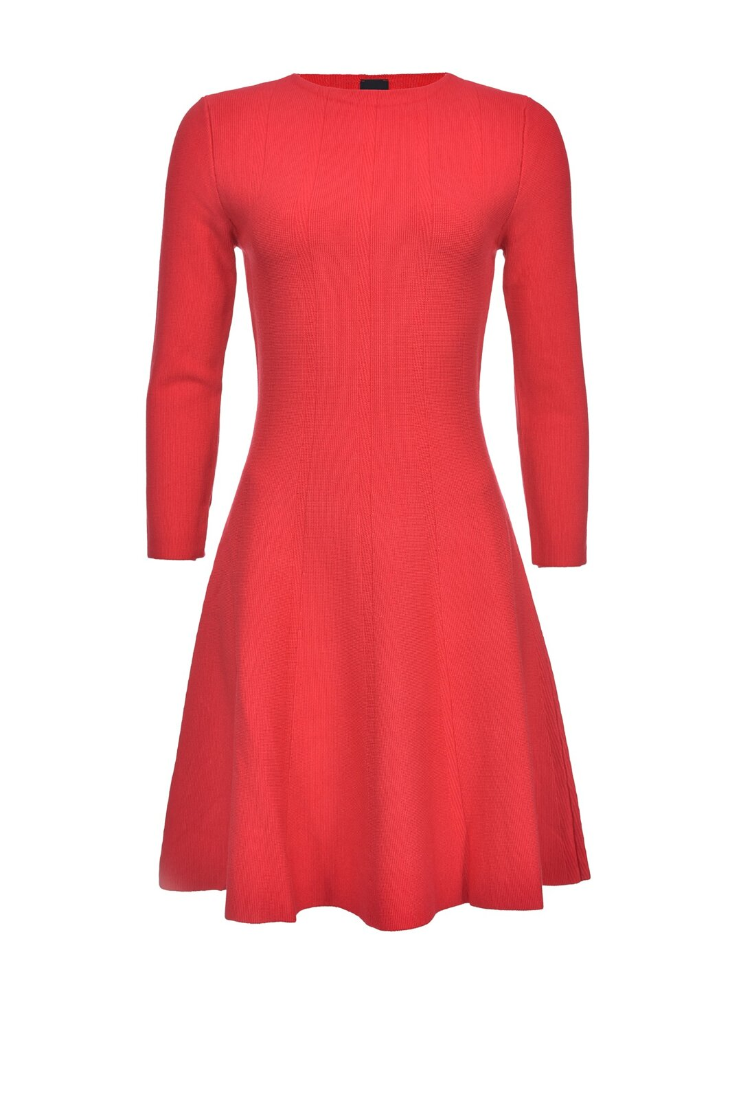 Fit And Flare Knit Dress - Pinko