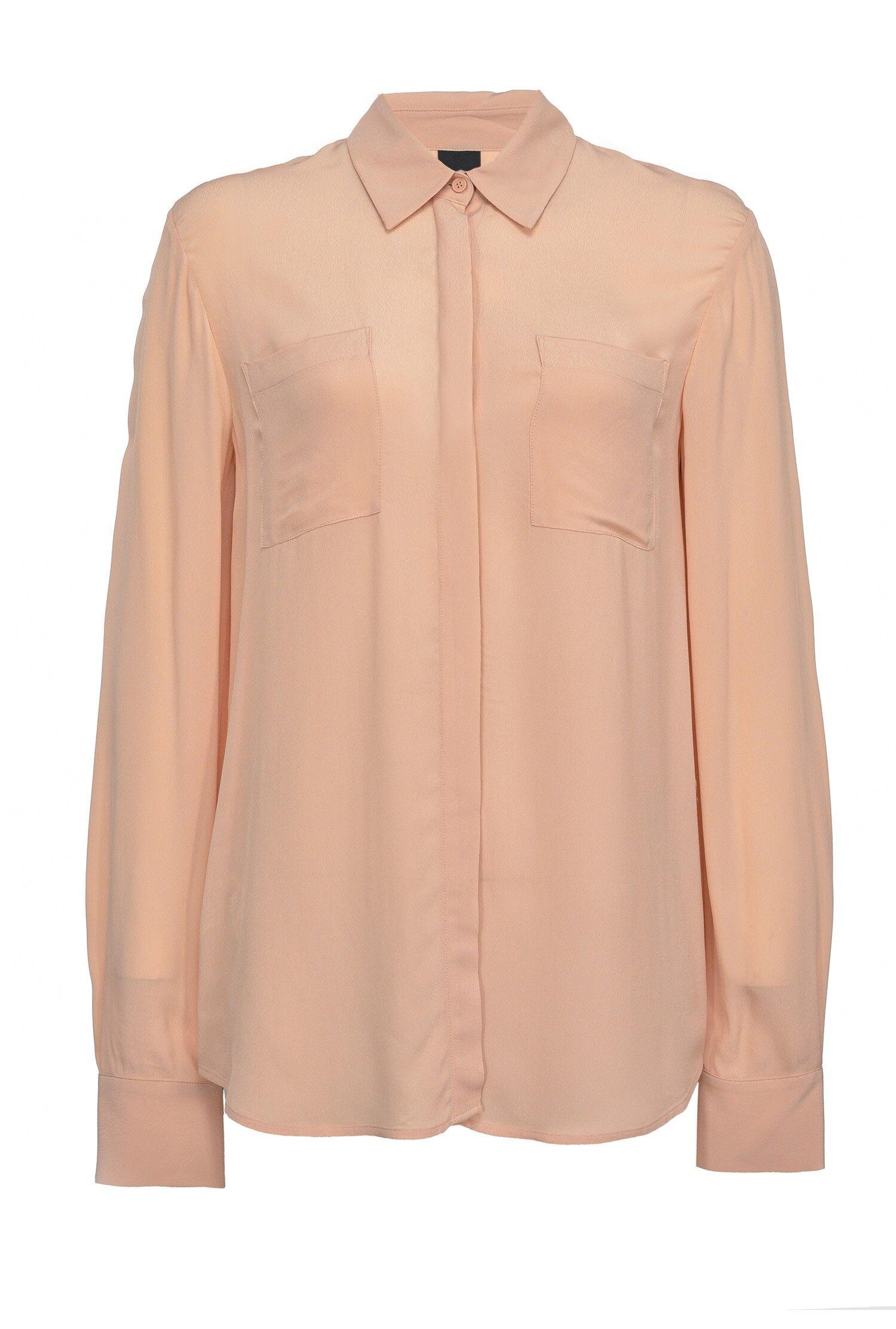 Camicia In Crêpe De Chine - Pinko