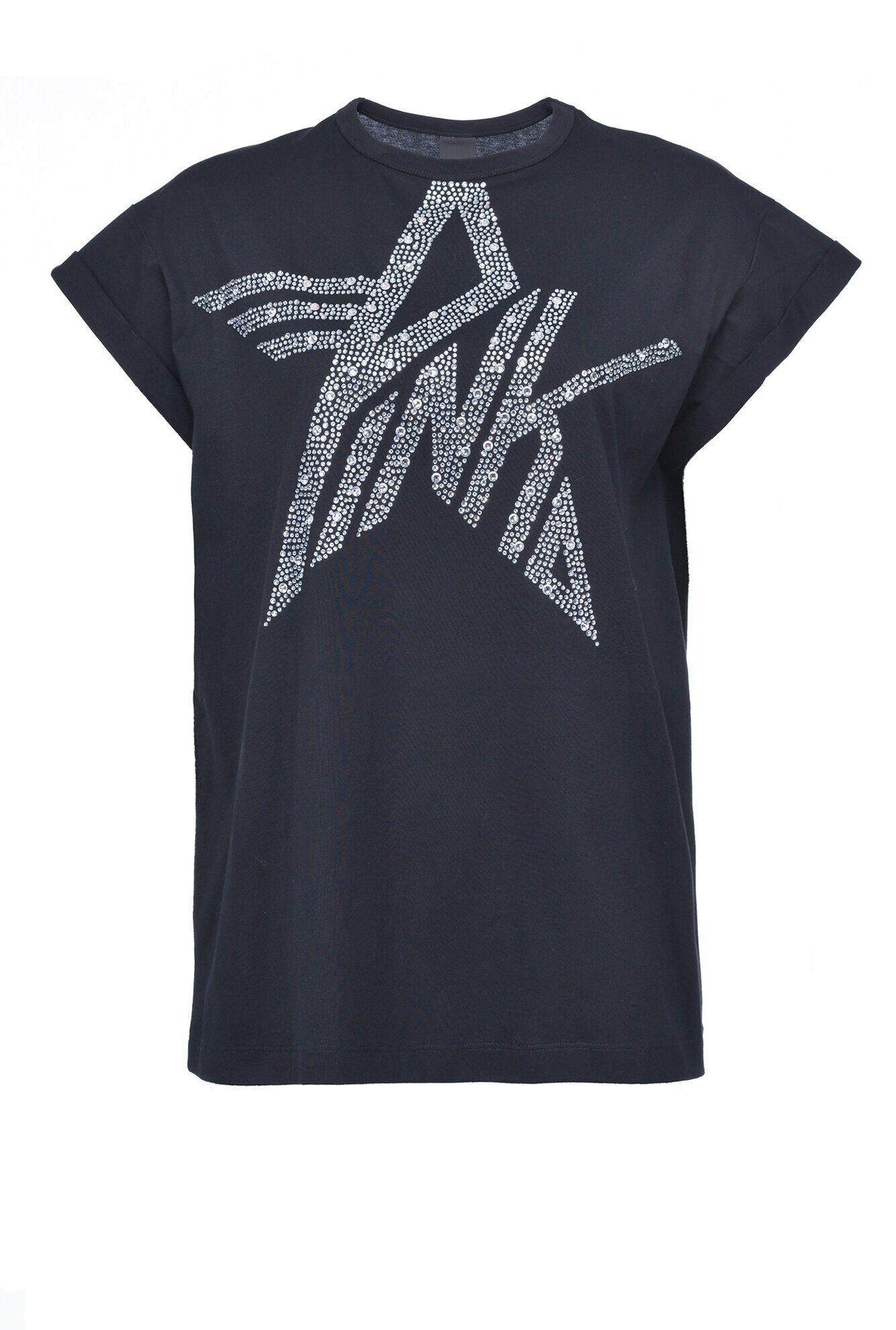 T-Shirt Logo Pinko A Stella - Pinko
