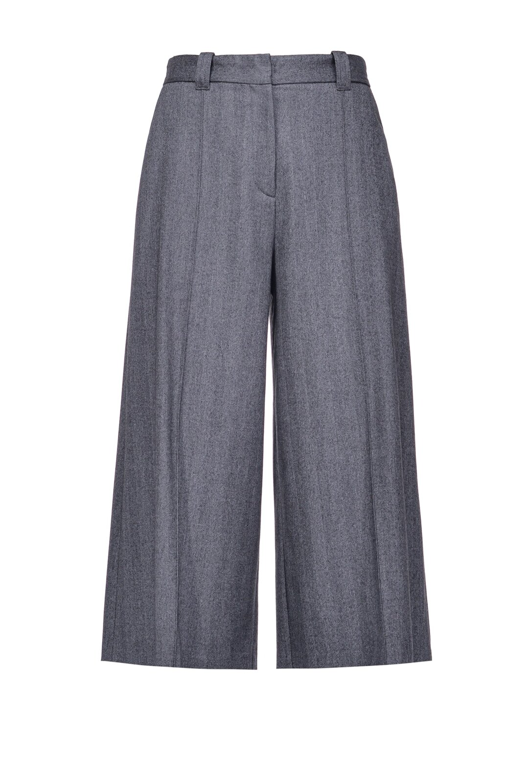 Chevron Design Culotte Pants - Pinko
