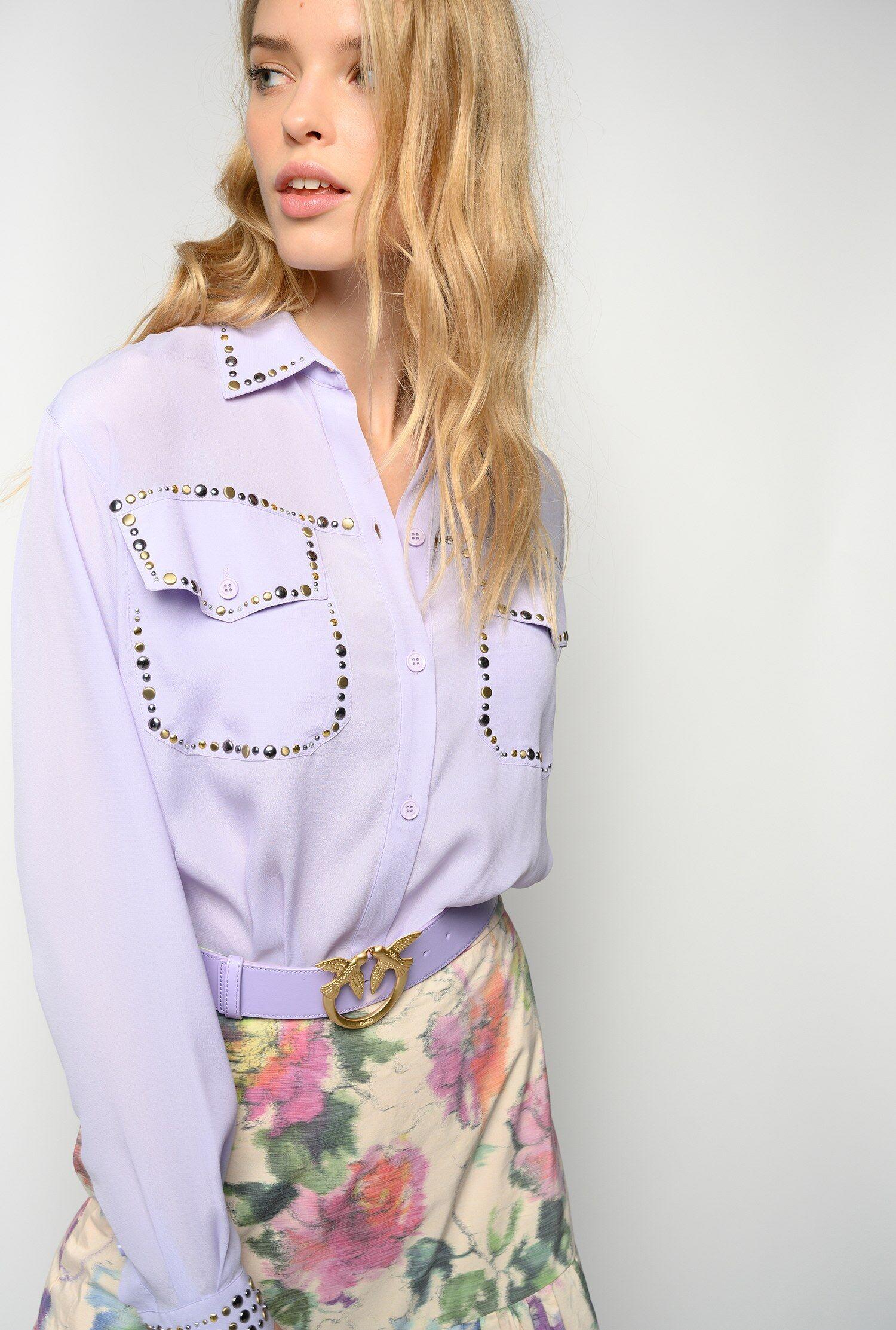 Camicia Con Borchie - Pinko