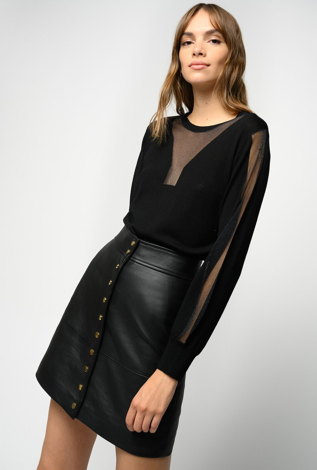 Pullover With Inlays - Pinko