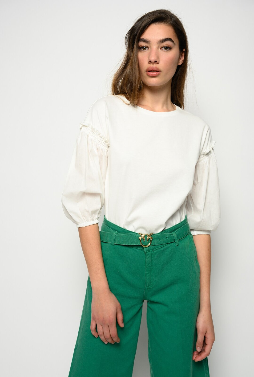 Top With Wide Sleeves - Pinko