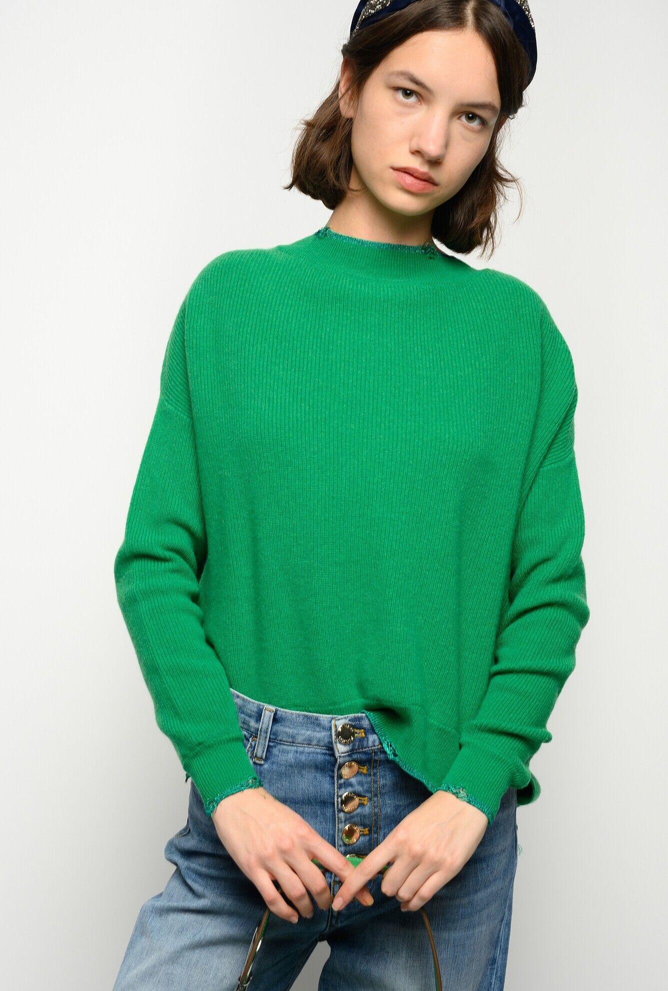 Pullover Con Profili Lurex - Pinko