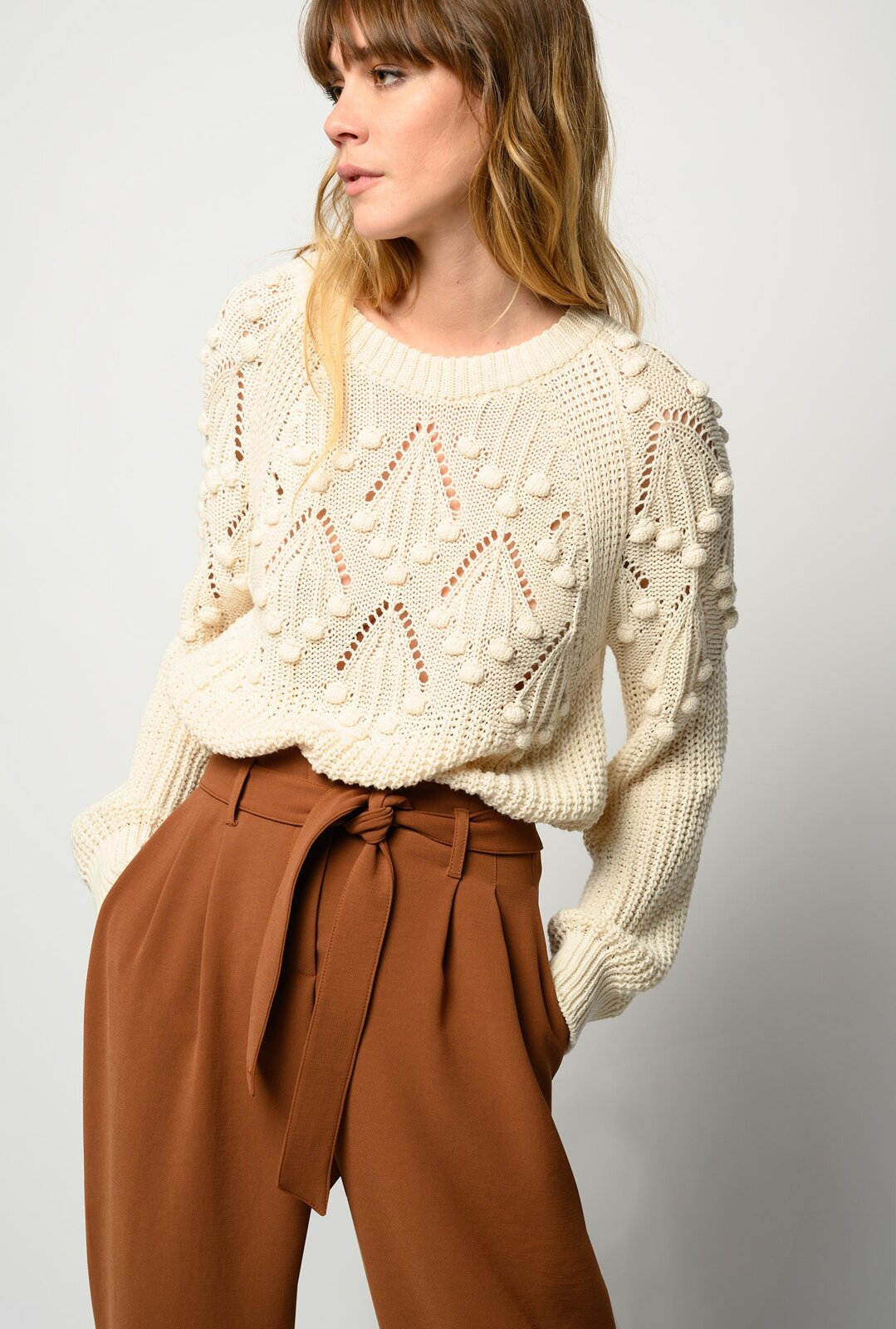 Pullover With Nuts - Pinko
