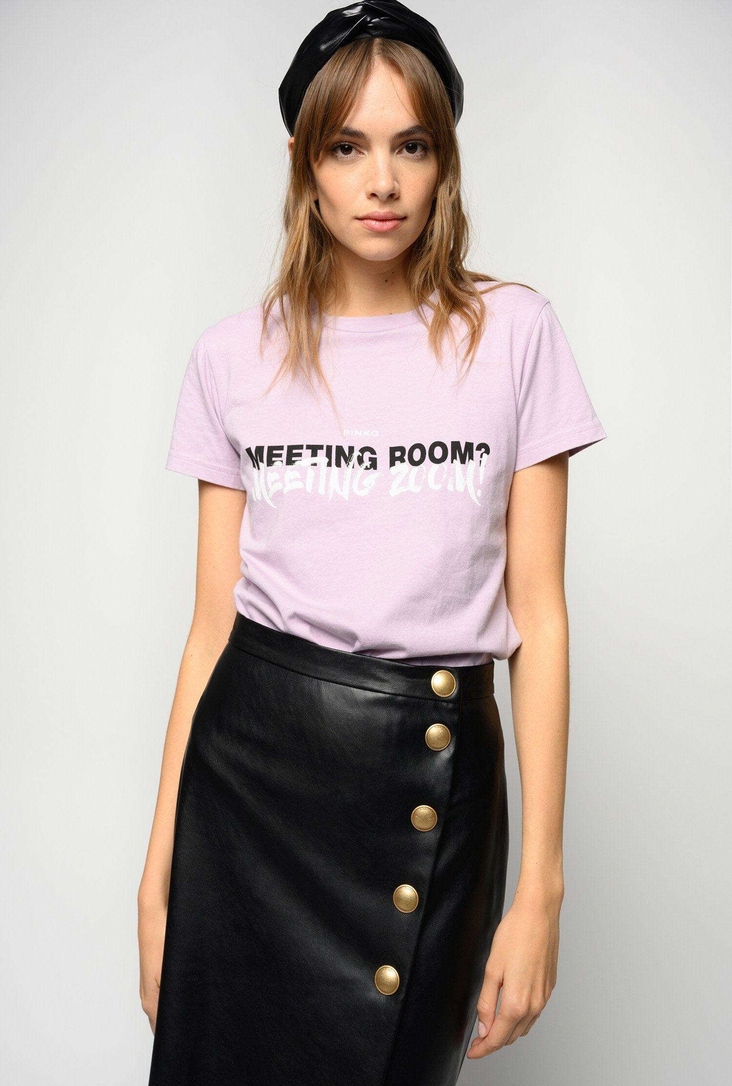T-Shirt Lettering - Pinko