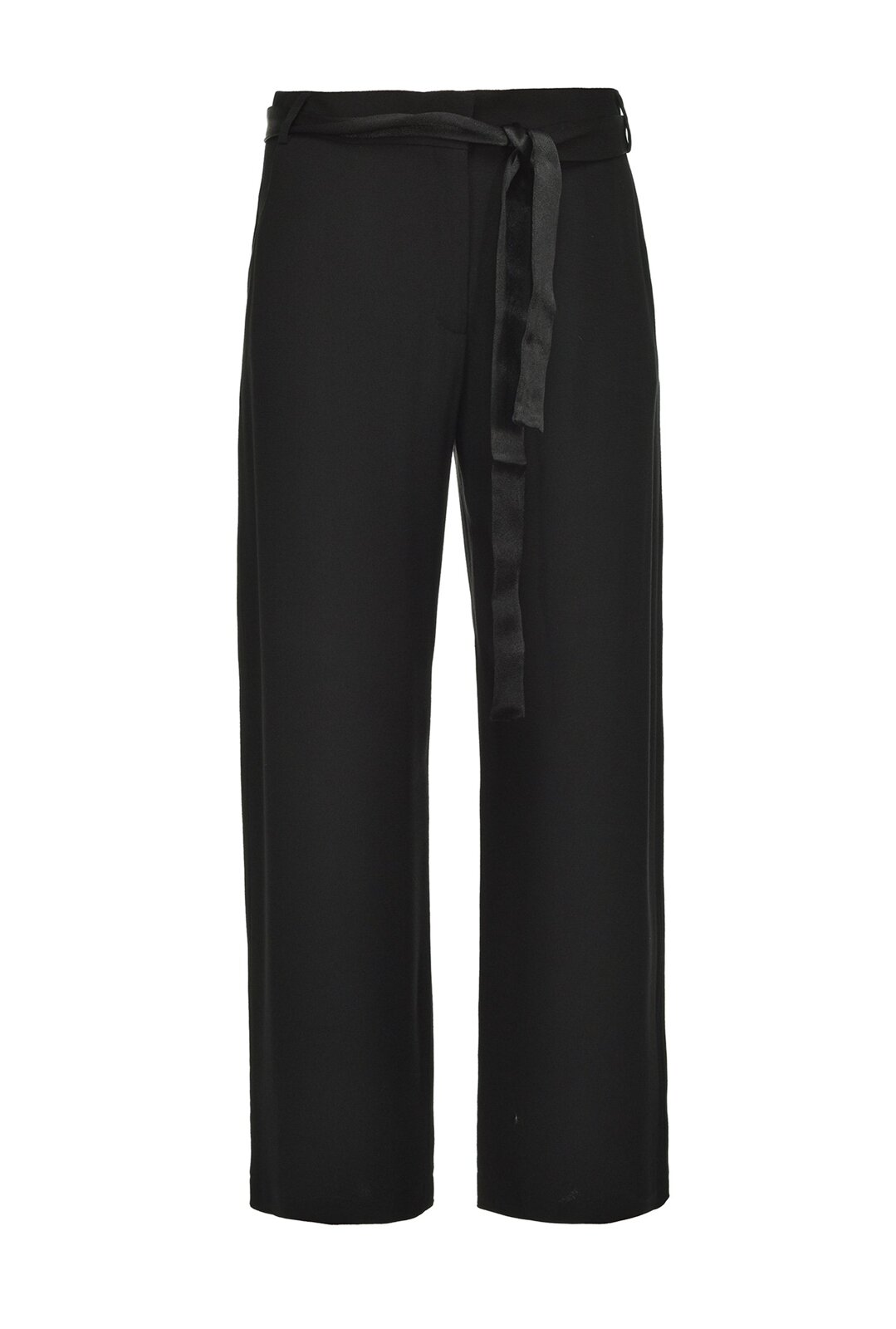 Pantaloni Cropped In Enver Satin - Pinko