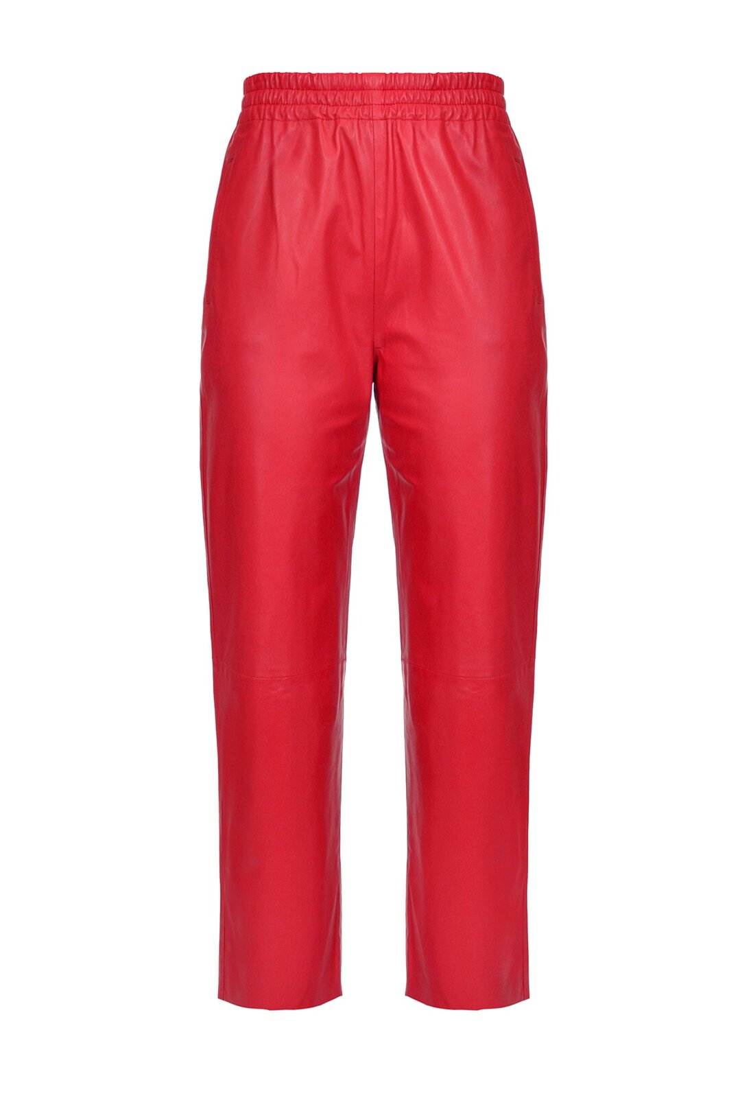 Pantaloni In Pelle Ultralight - Pinko