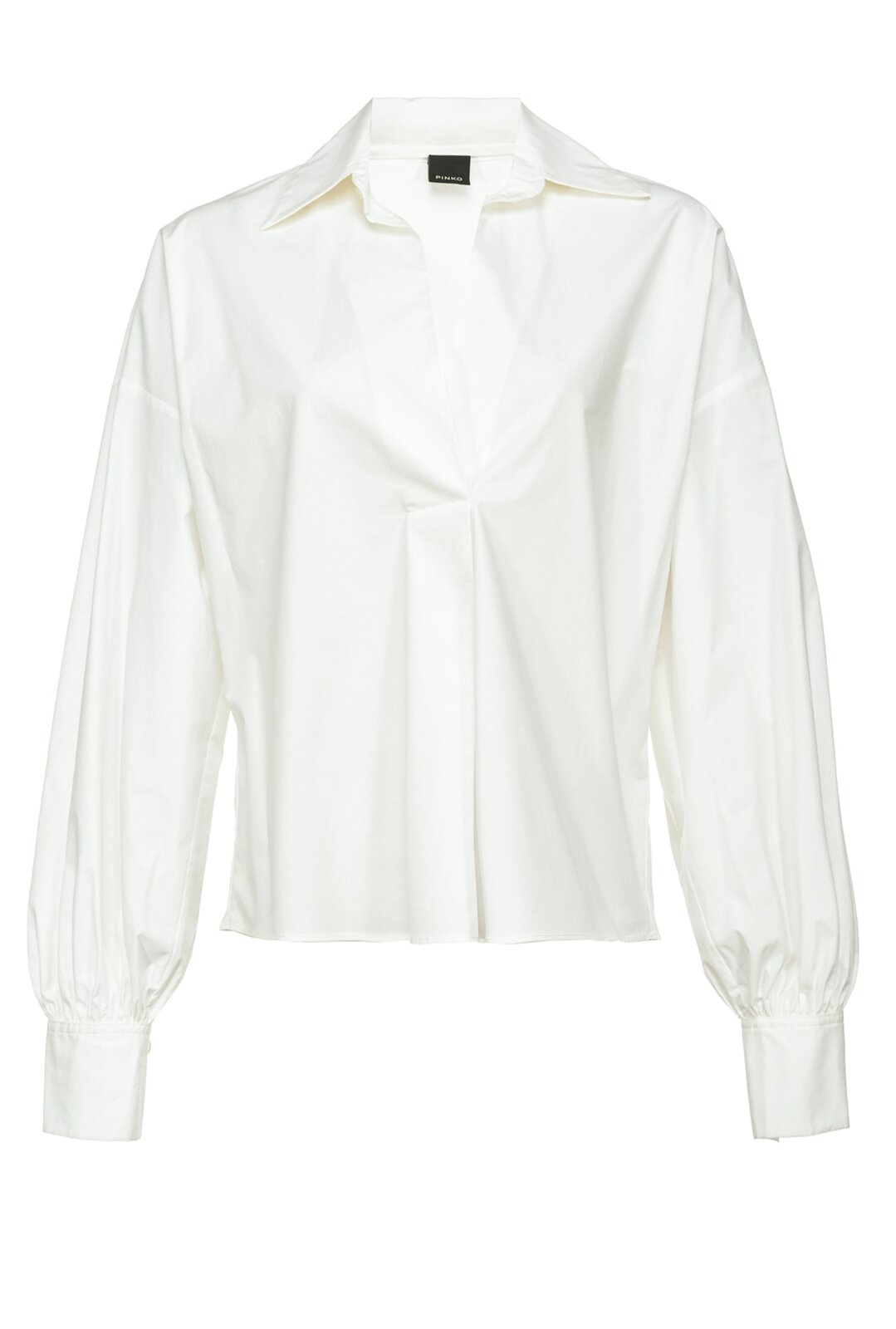 Blusa In Popeline Stretch - Pinko