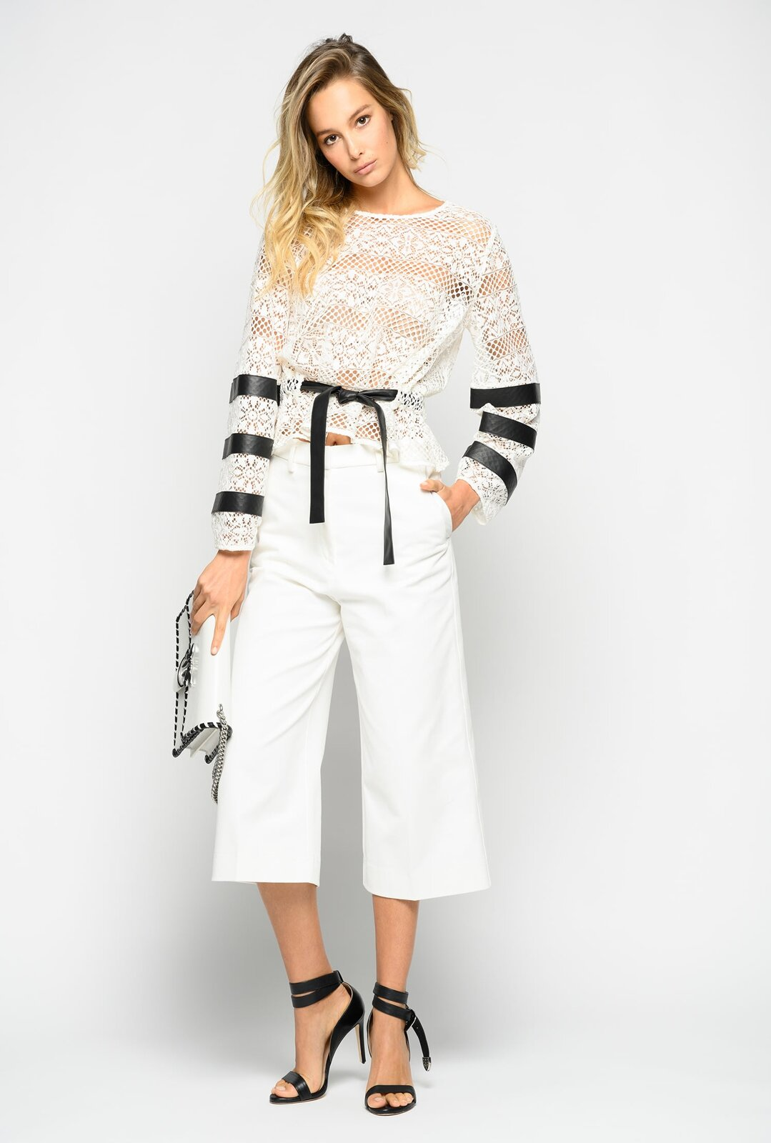 Culotte In Drill Pants - Pinko