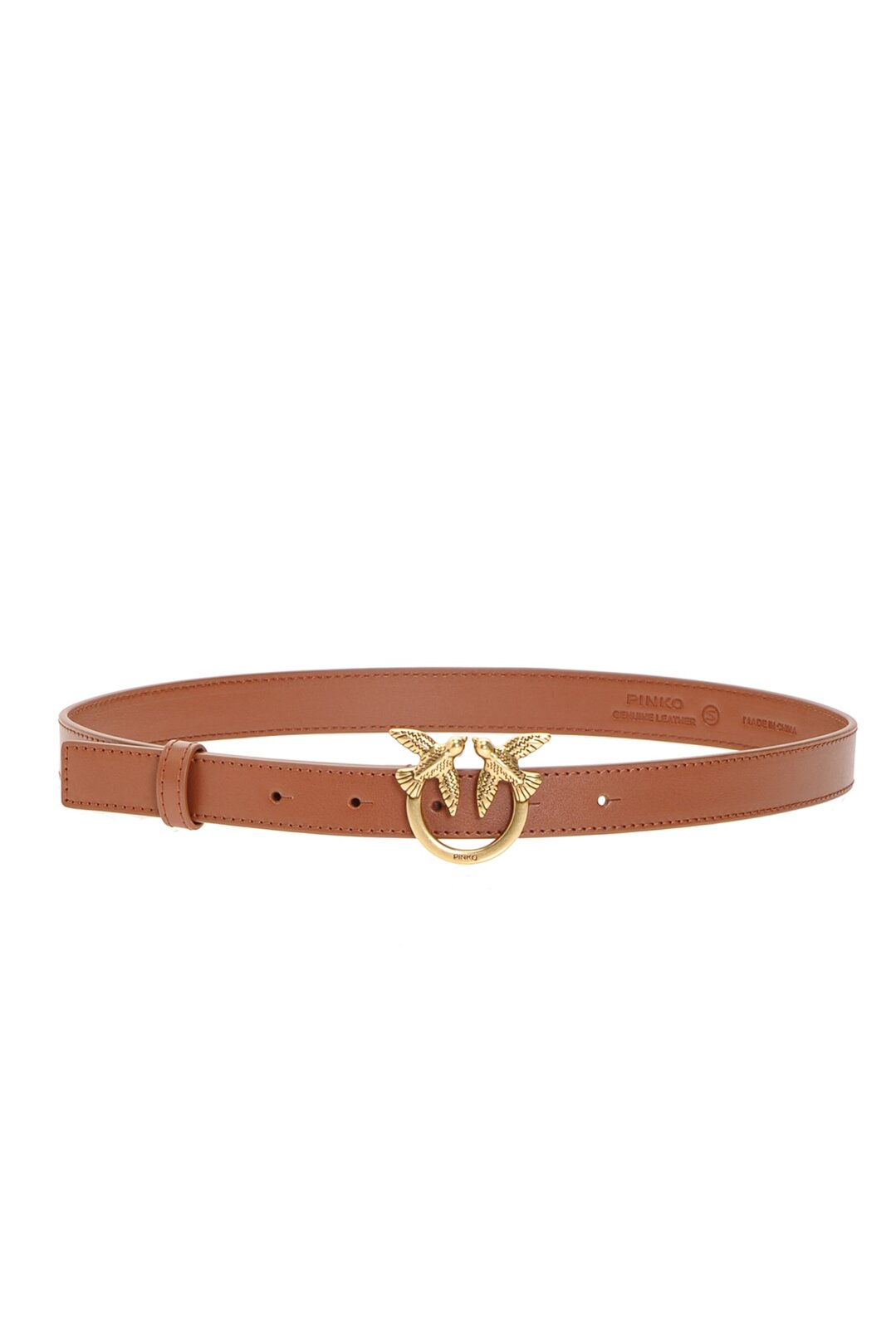 Low Belt With Love Birds Buckle - Pinko