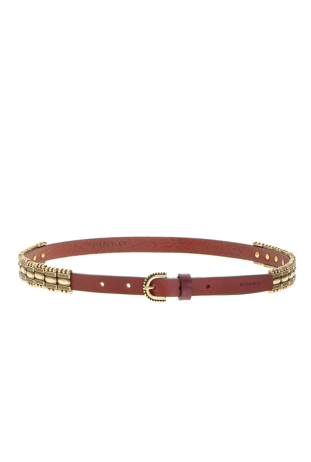Low Belt With Metal Plates - Pinko
