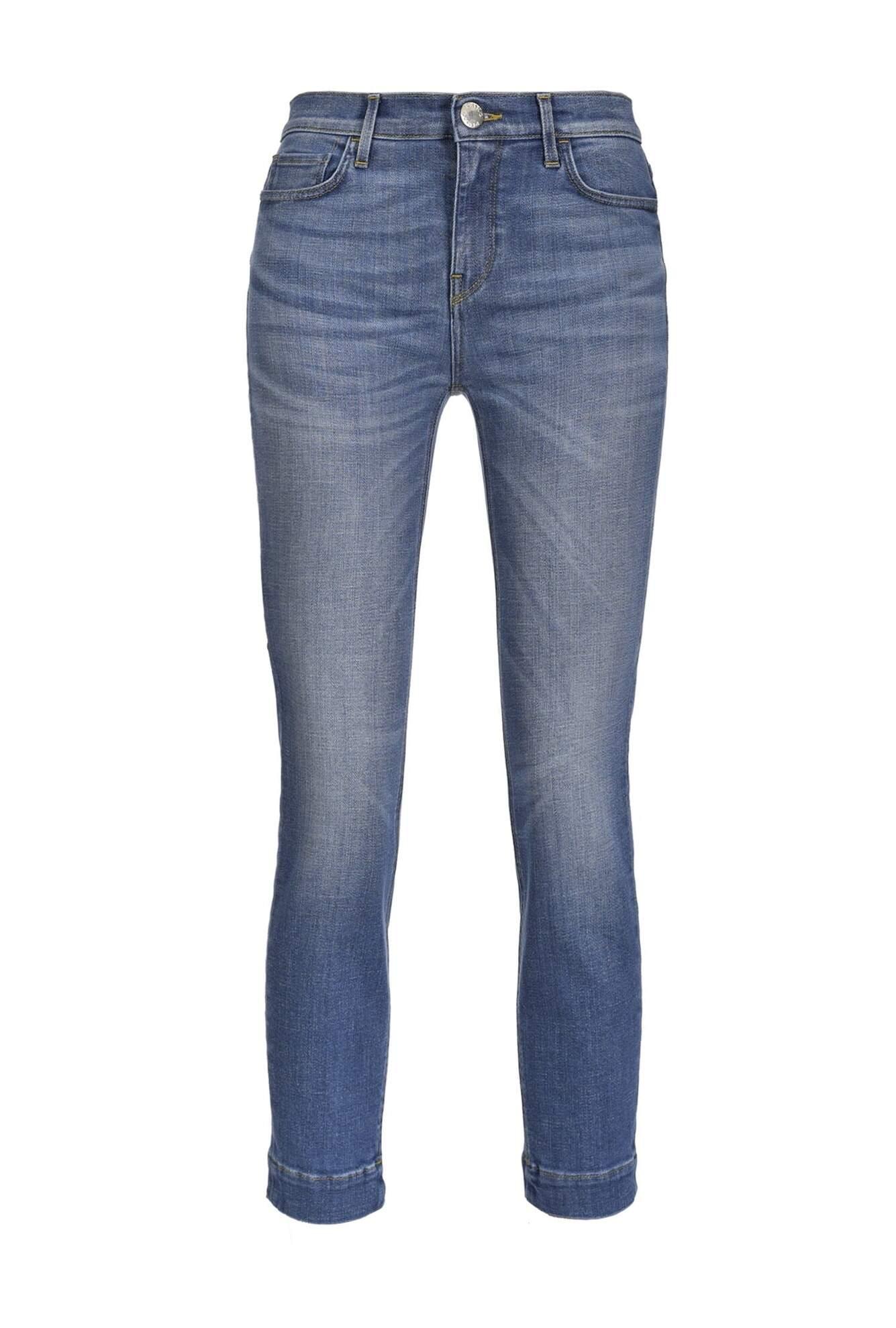 Jeans Skinny Cropped In Denim Comfort - Pinko