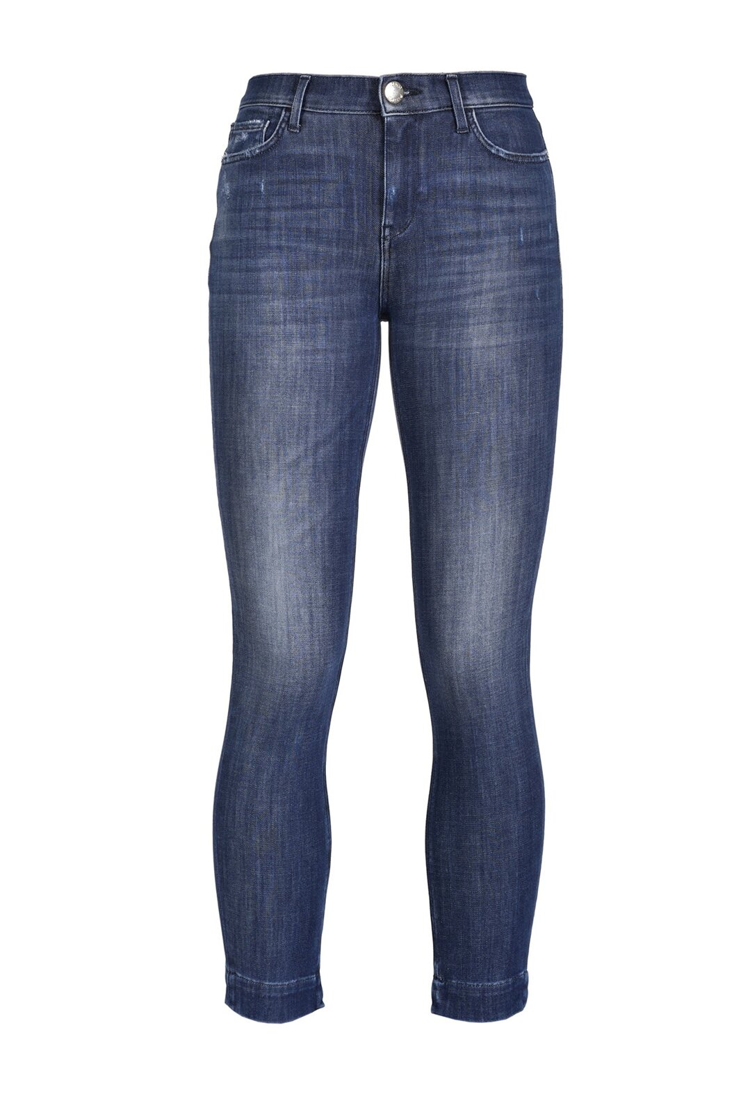 Jeans Skinny In Denim Bistretch - Pinko