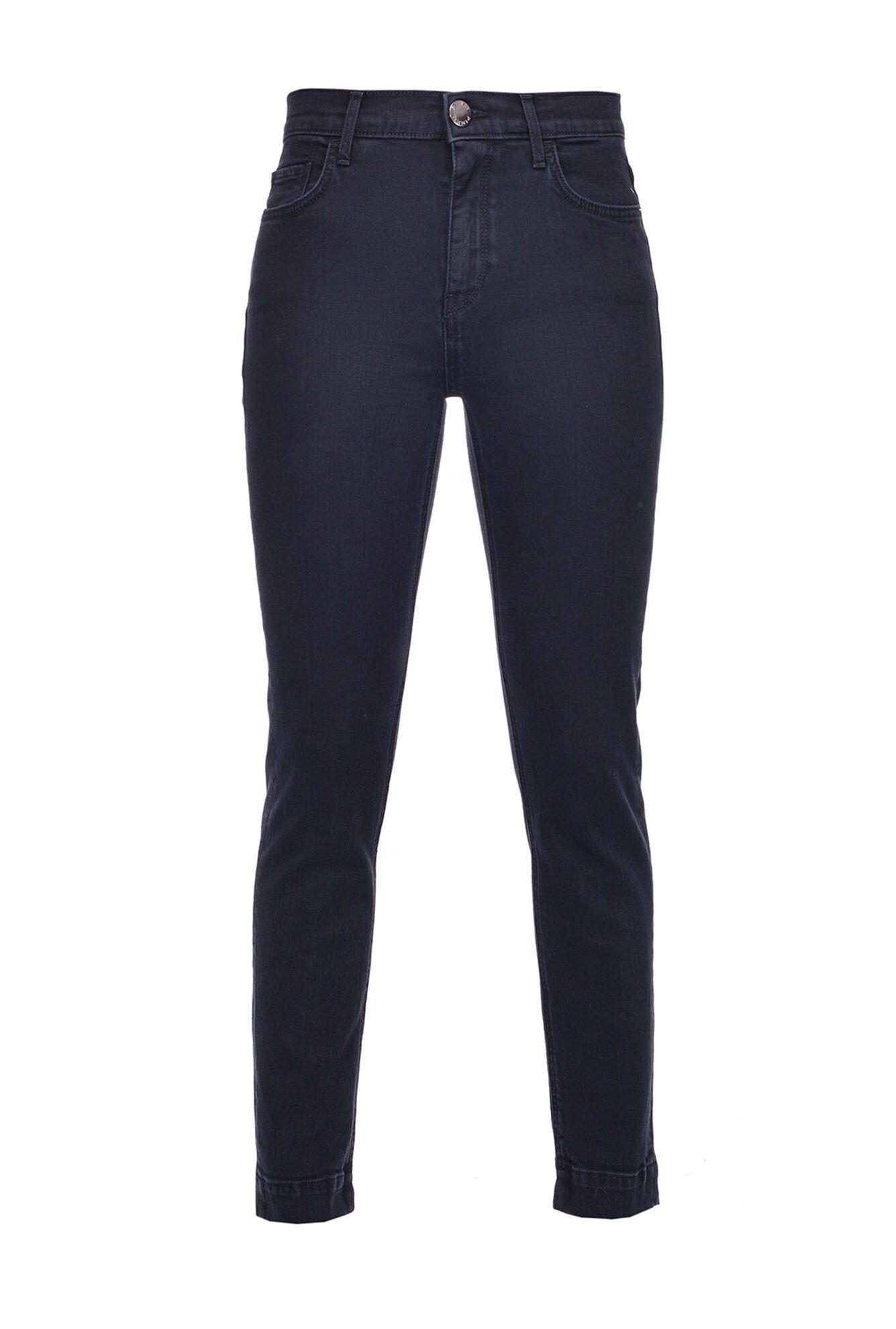 Jeans Skinny In Denim Black Stretch - Pinko