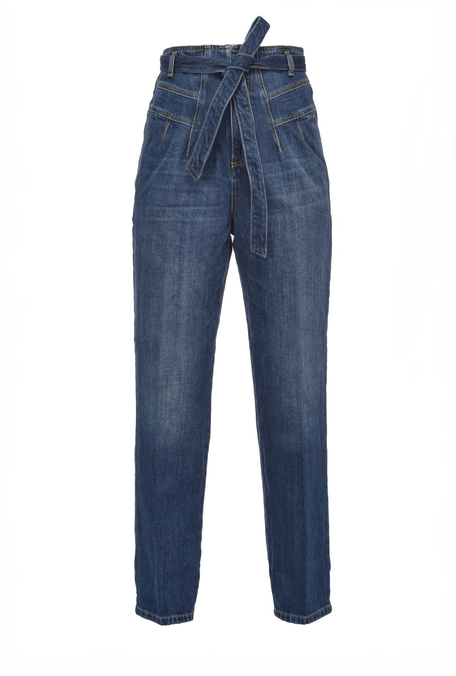Jeans Carrot-Fit In Denim Vintage - Pinko