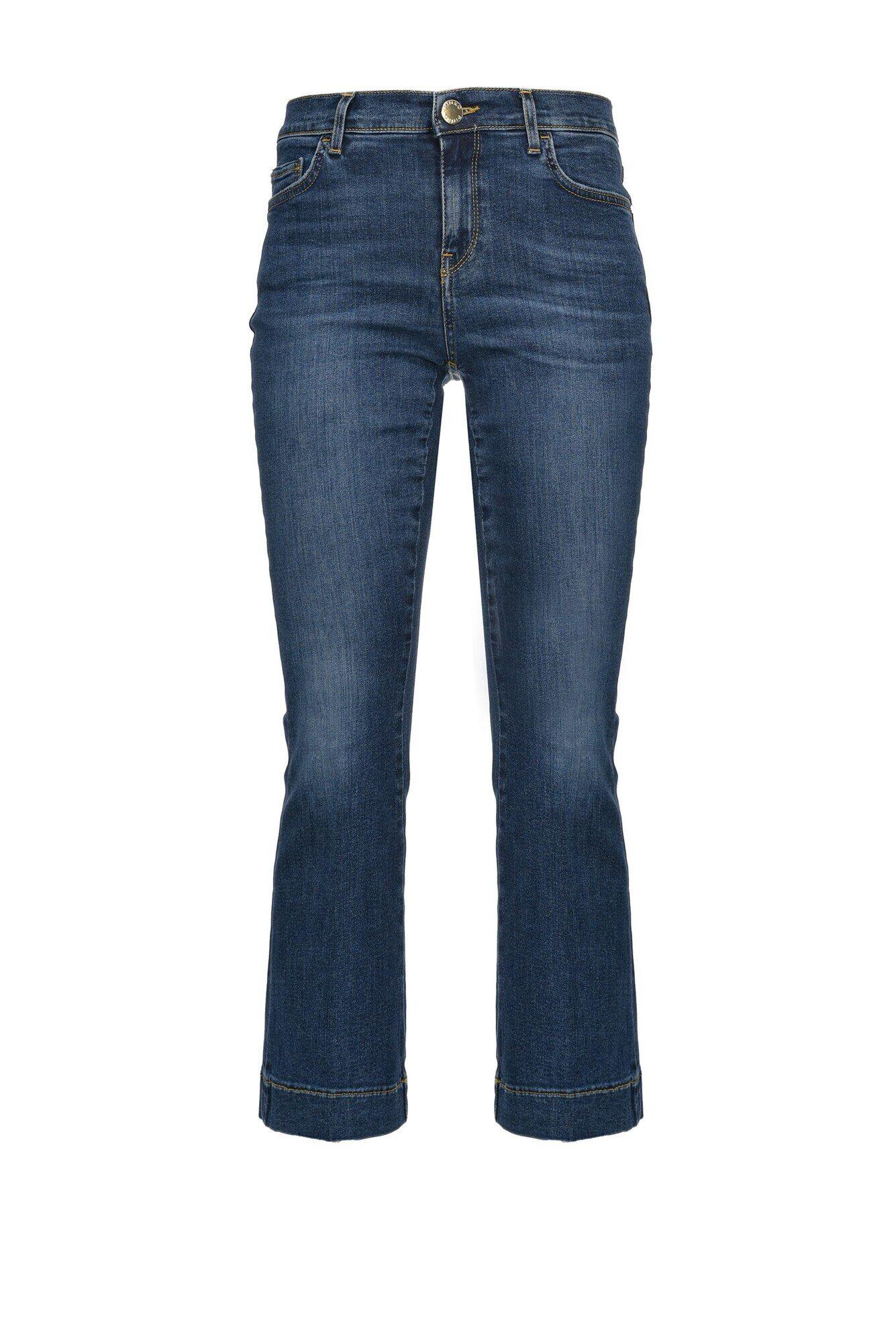 Jeans Flare In Denim Twill Stretch - Pinko