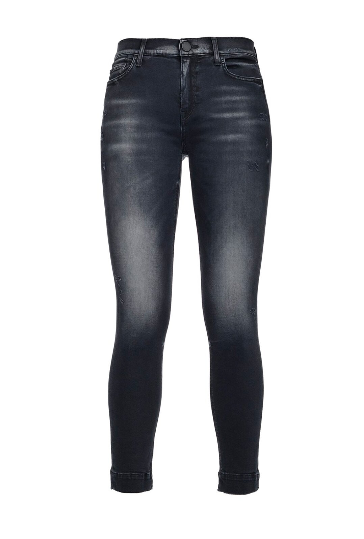 Jeans Skinny In Denim Black Power Stretch - Pinko