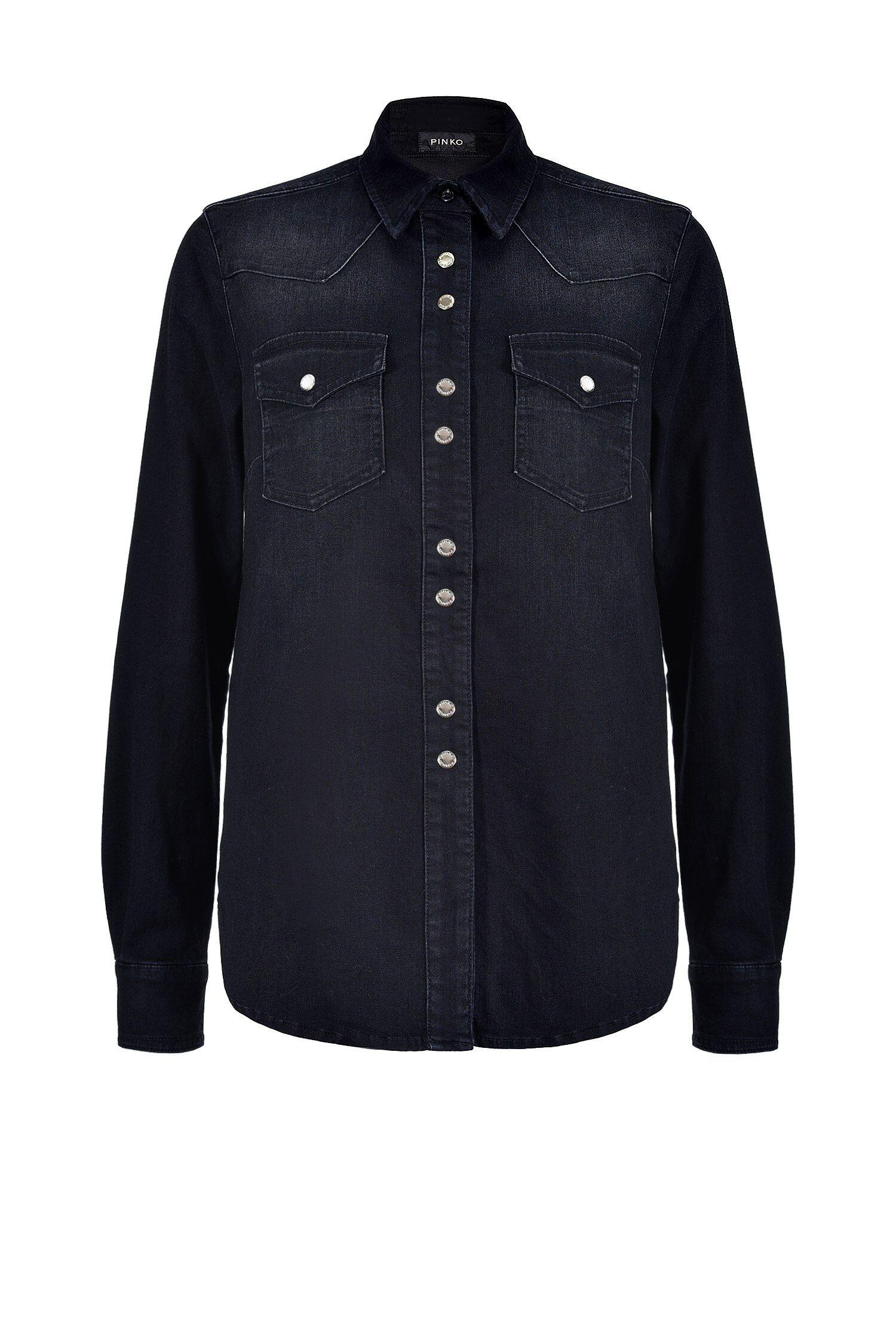 Camicia In Twill Leggero - Pinko