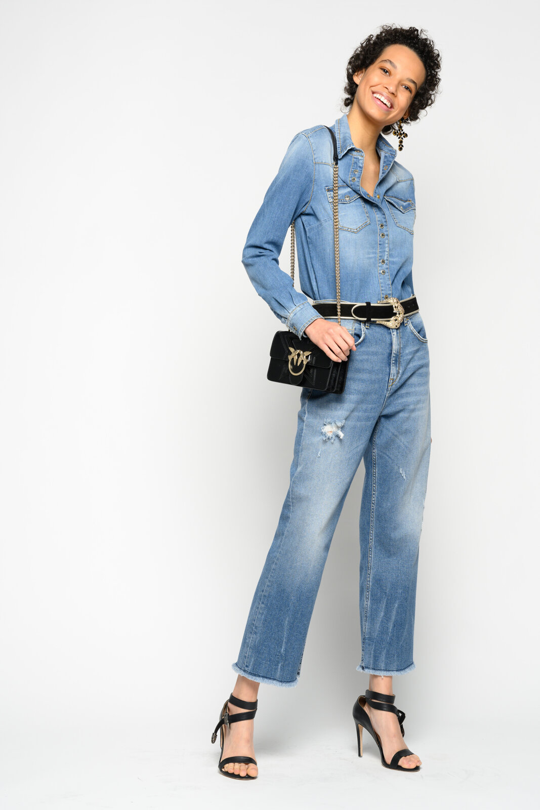 Jeans Bootcut Mom-Fit - Pinko