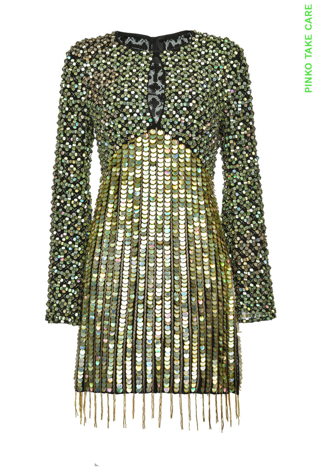 Abito Con Paillettes Re-Glam - Pinko