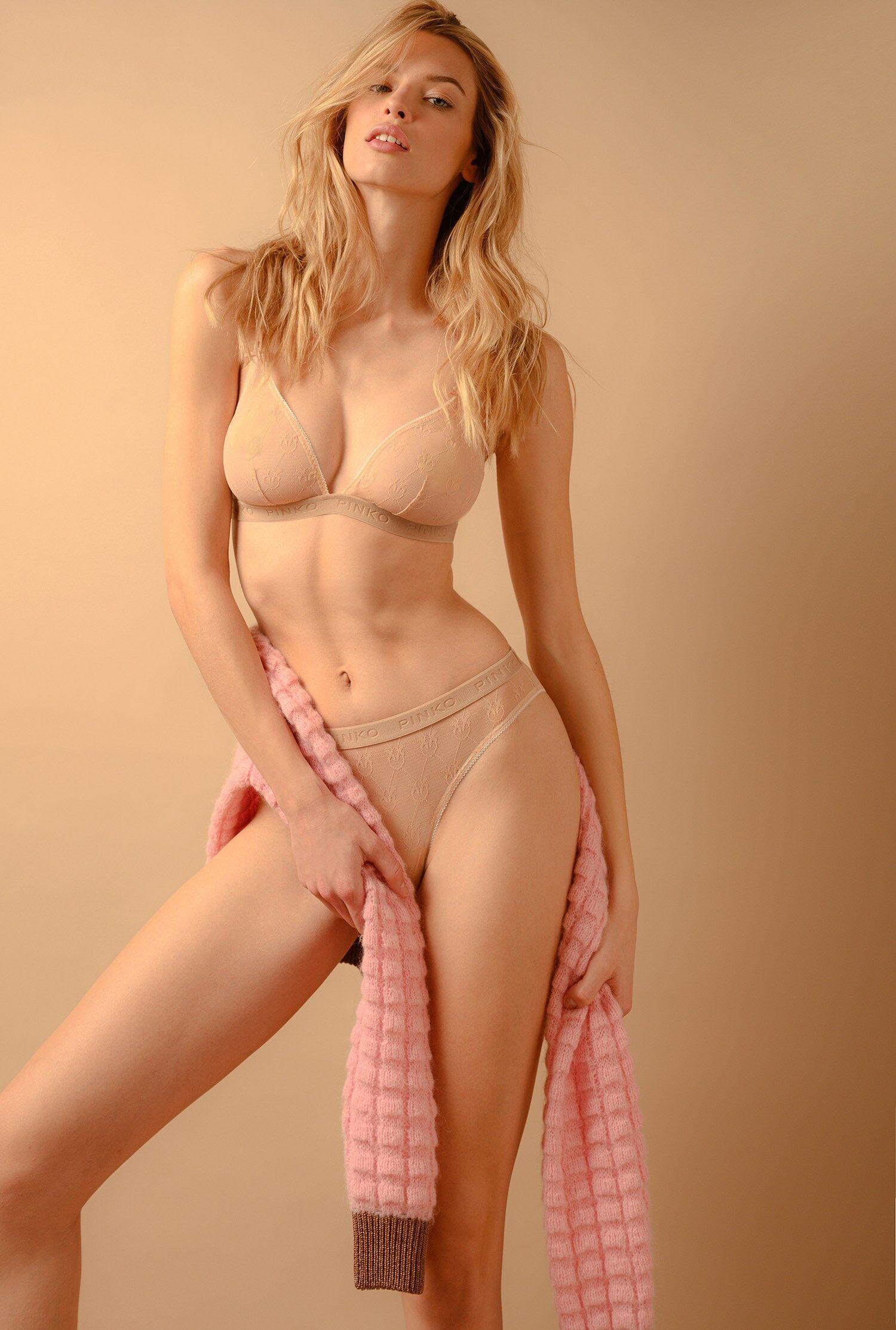 Lace Briefs - Pinko