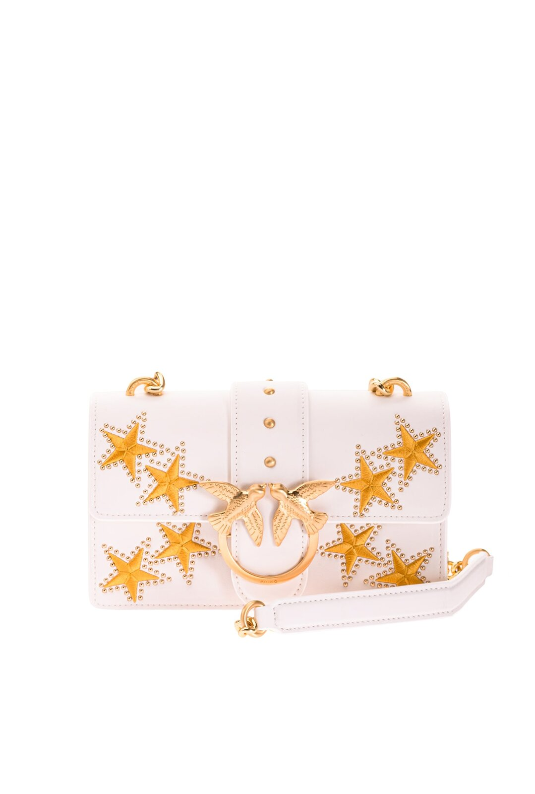 Mini Love Bag Icon Star Con Ricamo - Pinko