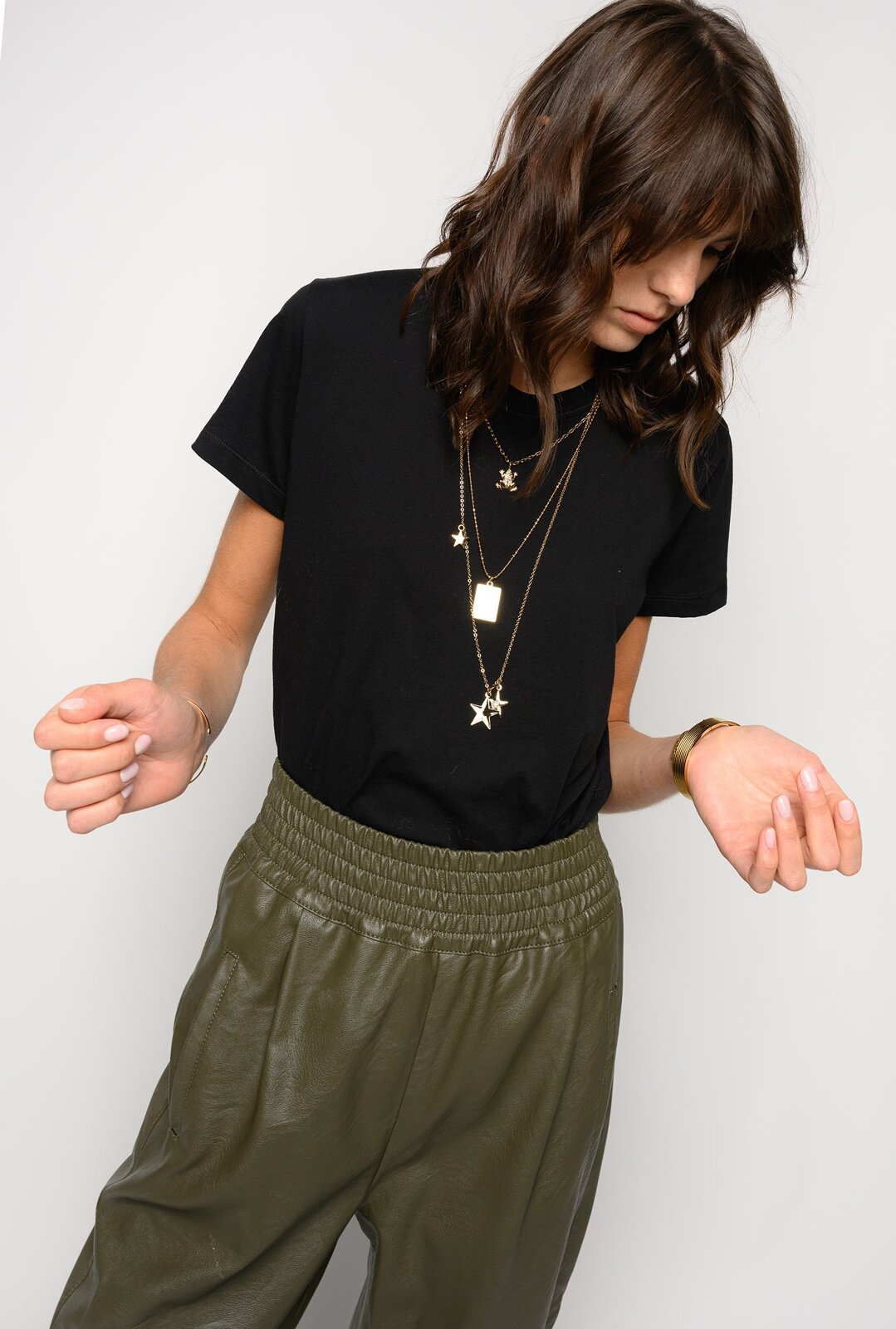 T-Shirt With Star Necklace - Pinko