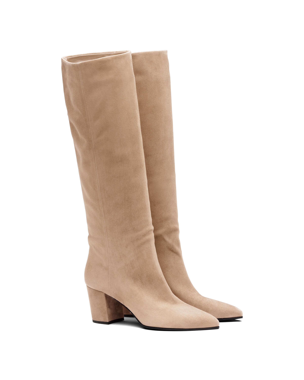 Stivali in pelle scamosciata - Prada