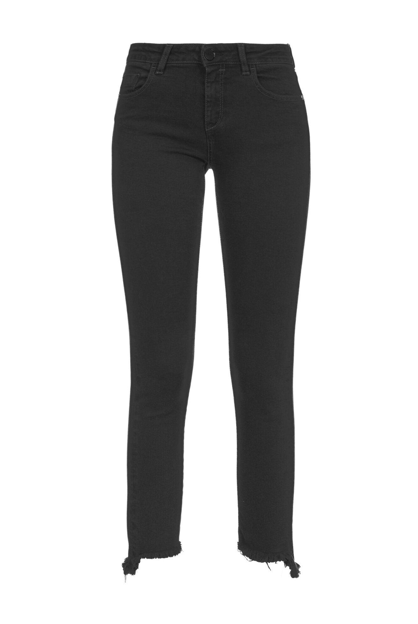 Jeans Skinny In Denim Black Reform - Pinko